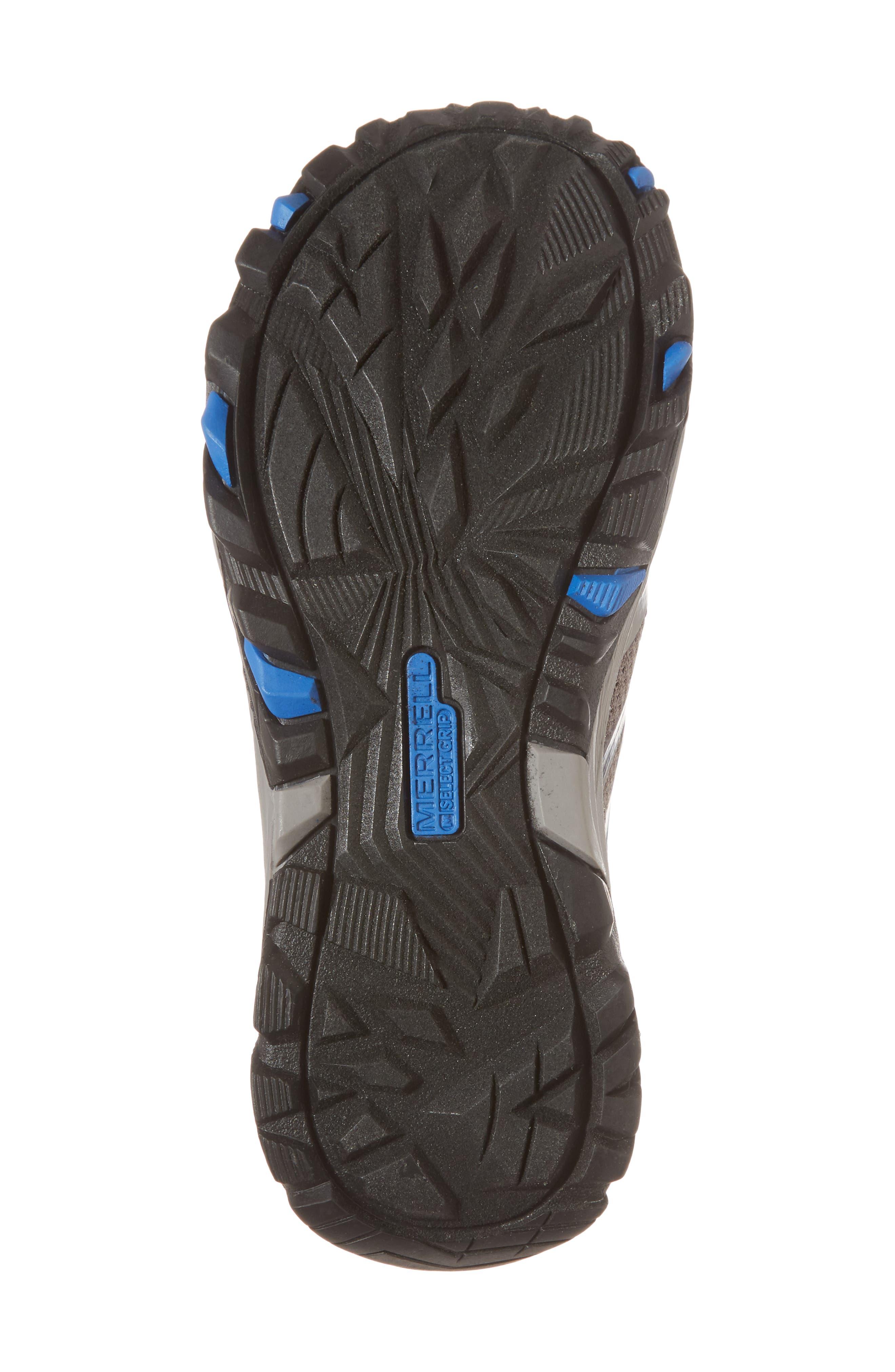 Alternate Image 6  - Merrell Moab FST Mid Top Waterproof Sneaker Boot (Toddler, Little Kid & Big Kid)