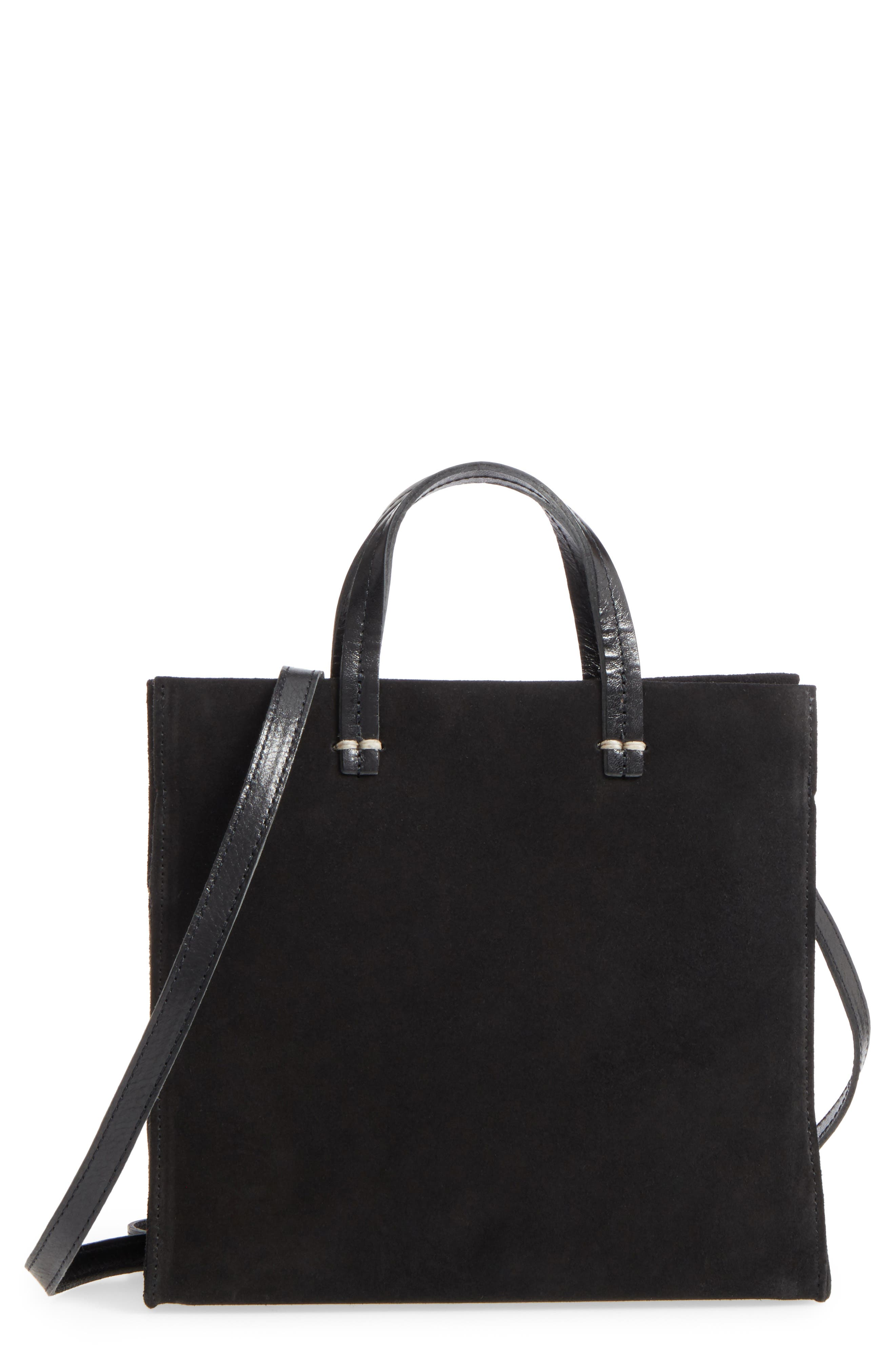 Clare V. Petit Simple Maison Suede Tote