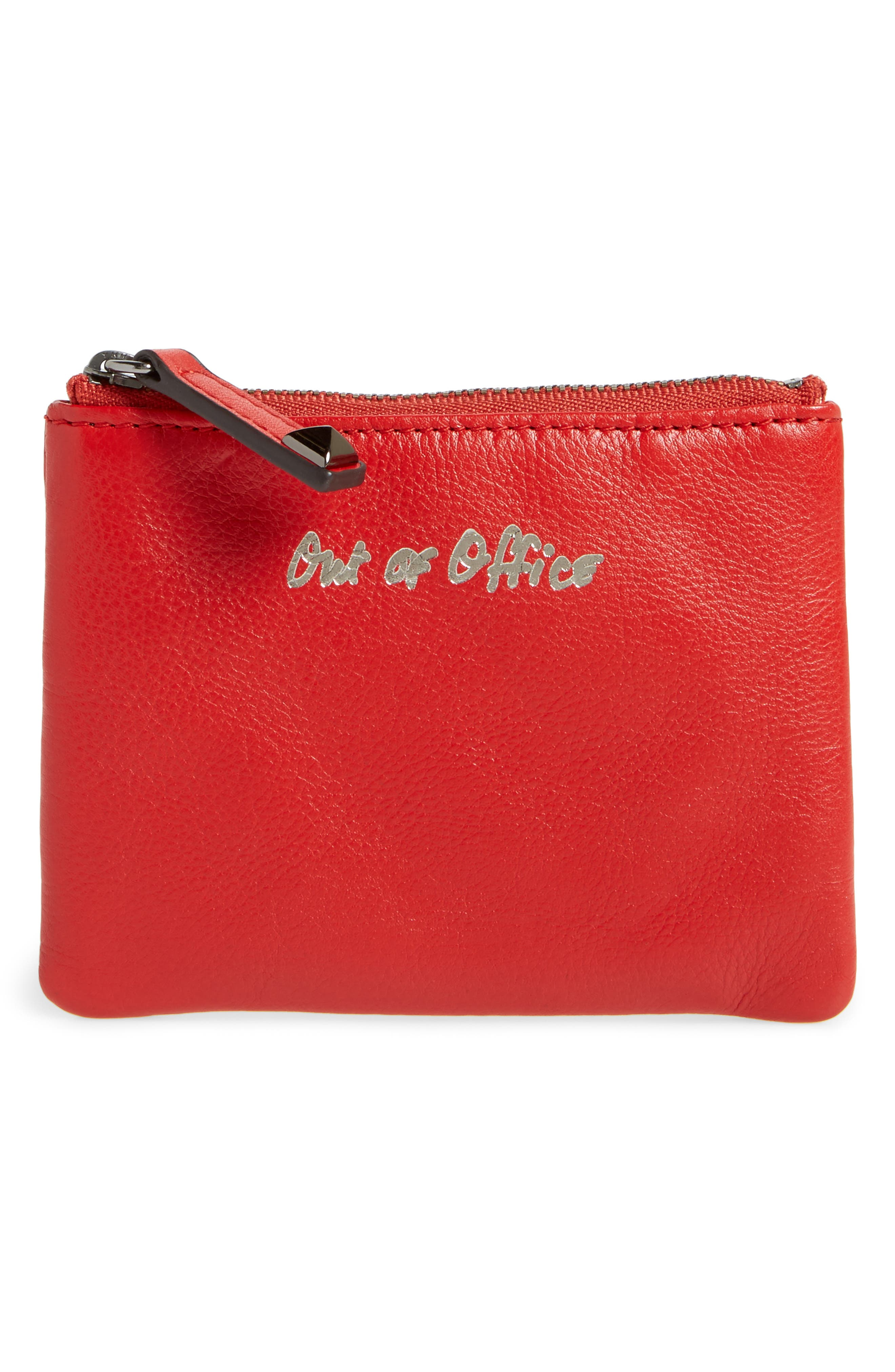 Rebecca Minkoff Betty - Out of Office Leather Pouch