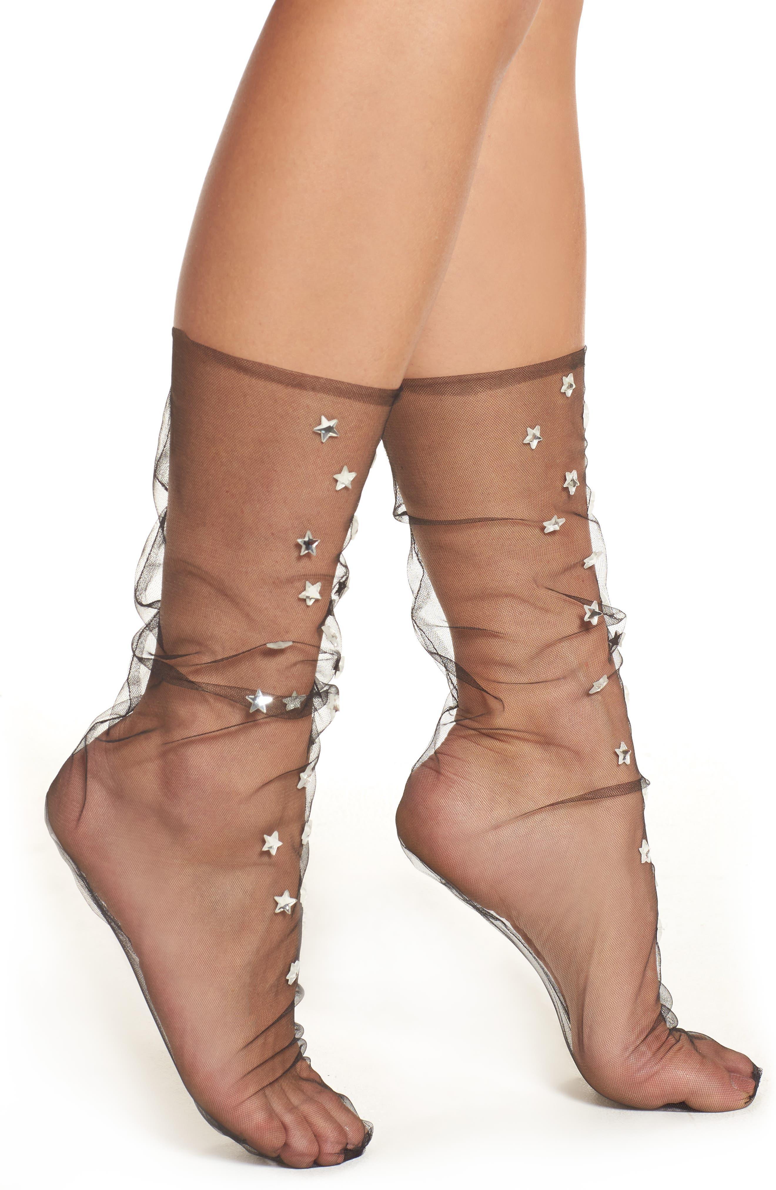Lirika Matoshi Starry Tulle Socks