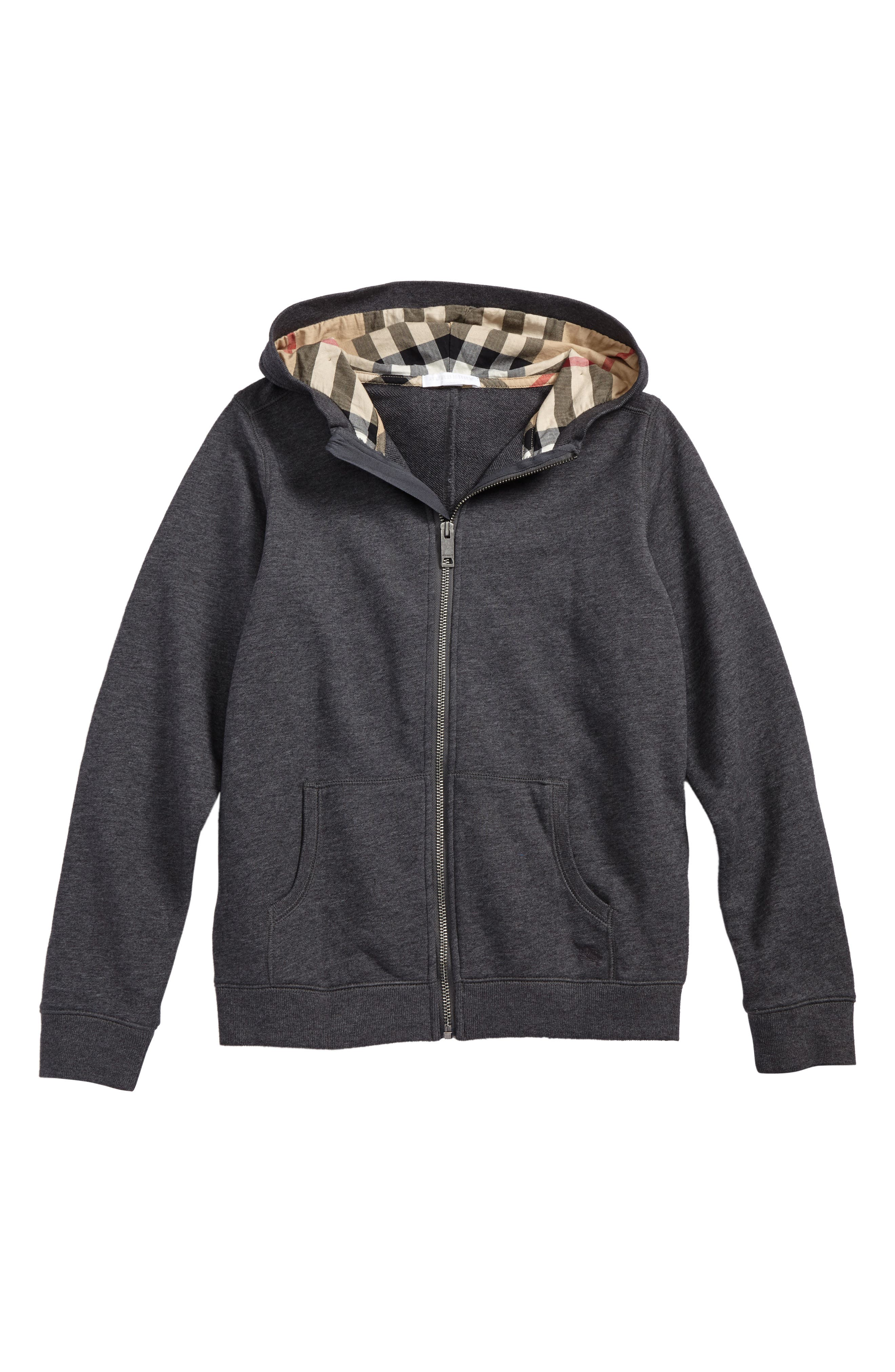 Alternate Image 1 Selected - Burberry Pearcy Hoodie (Little Boys & Big Boys)