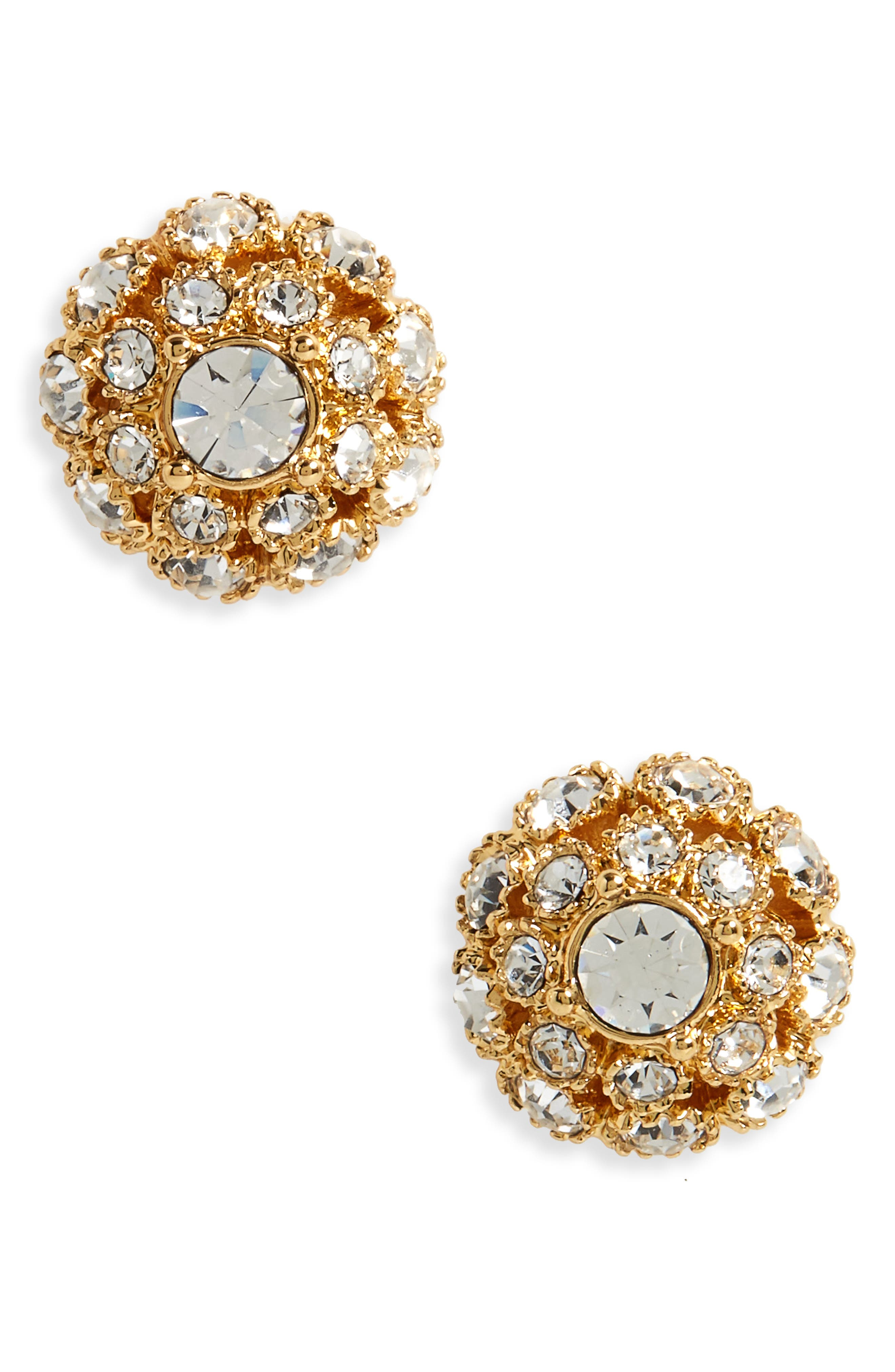 kate spade new york putting on the ritz stud earrings