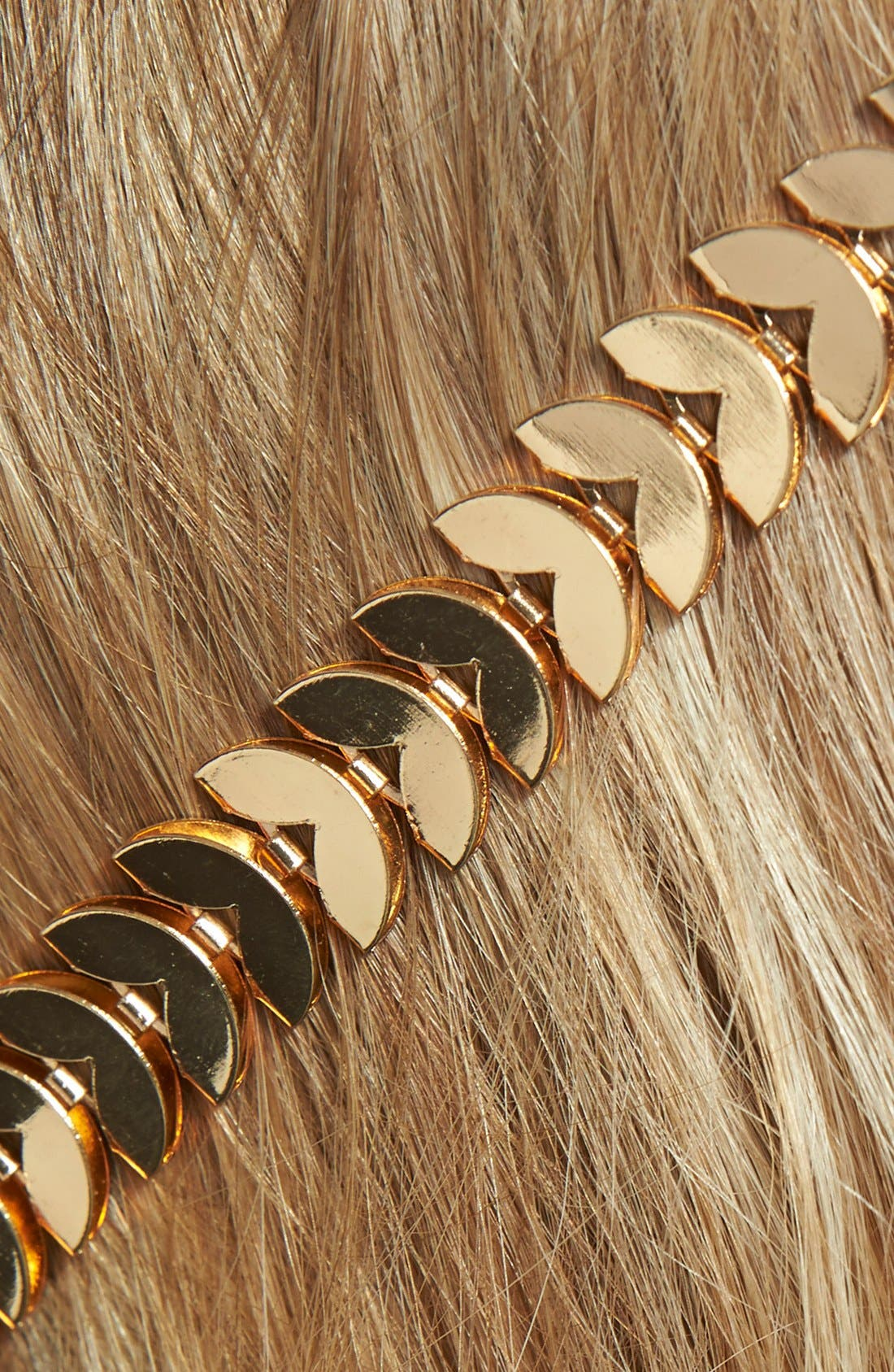 Alternate Image 2  - Tasha 'Strands of Leaves' Headband