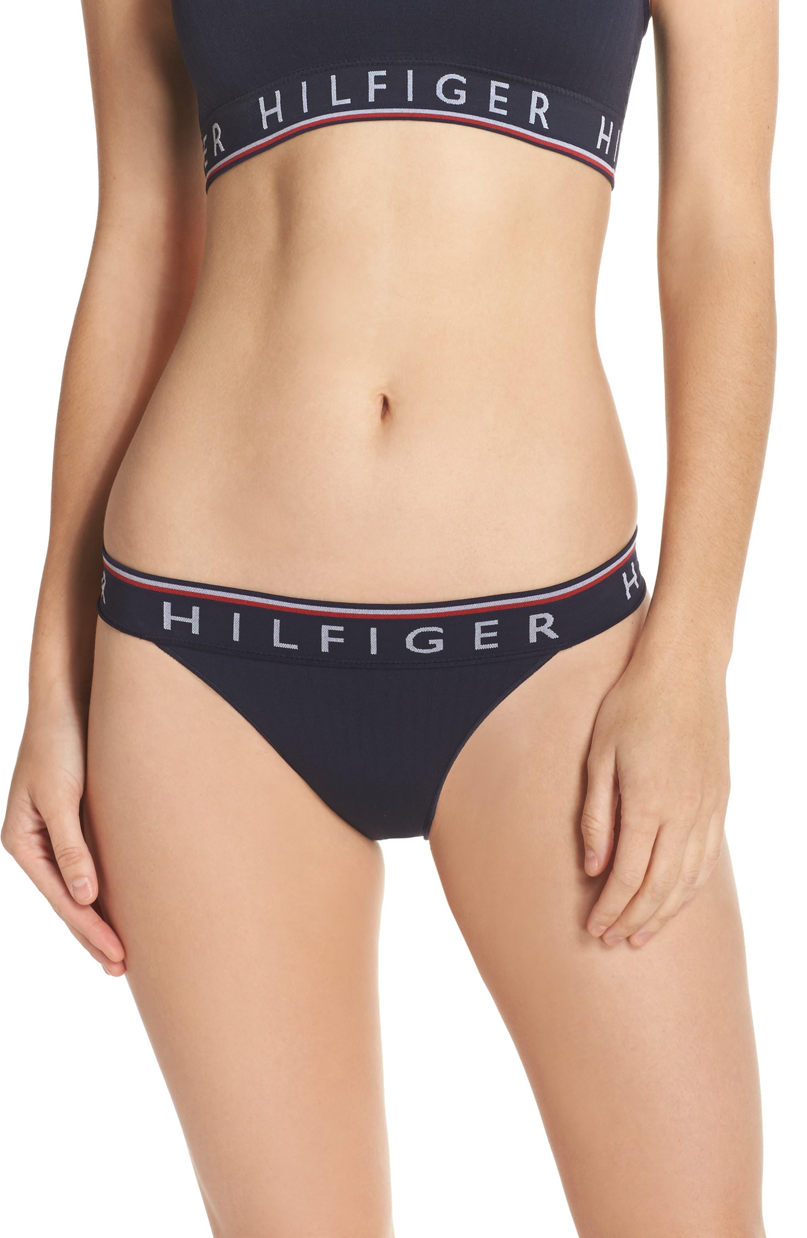 Main Image - Tommy Hilfiger Ribbed Bikini