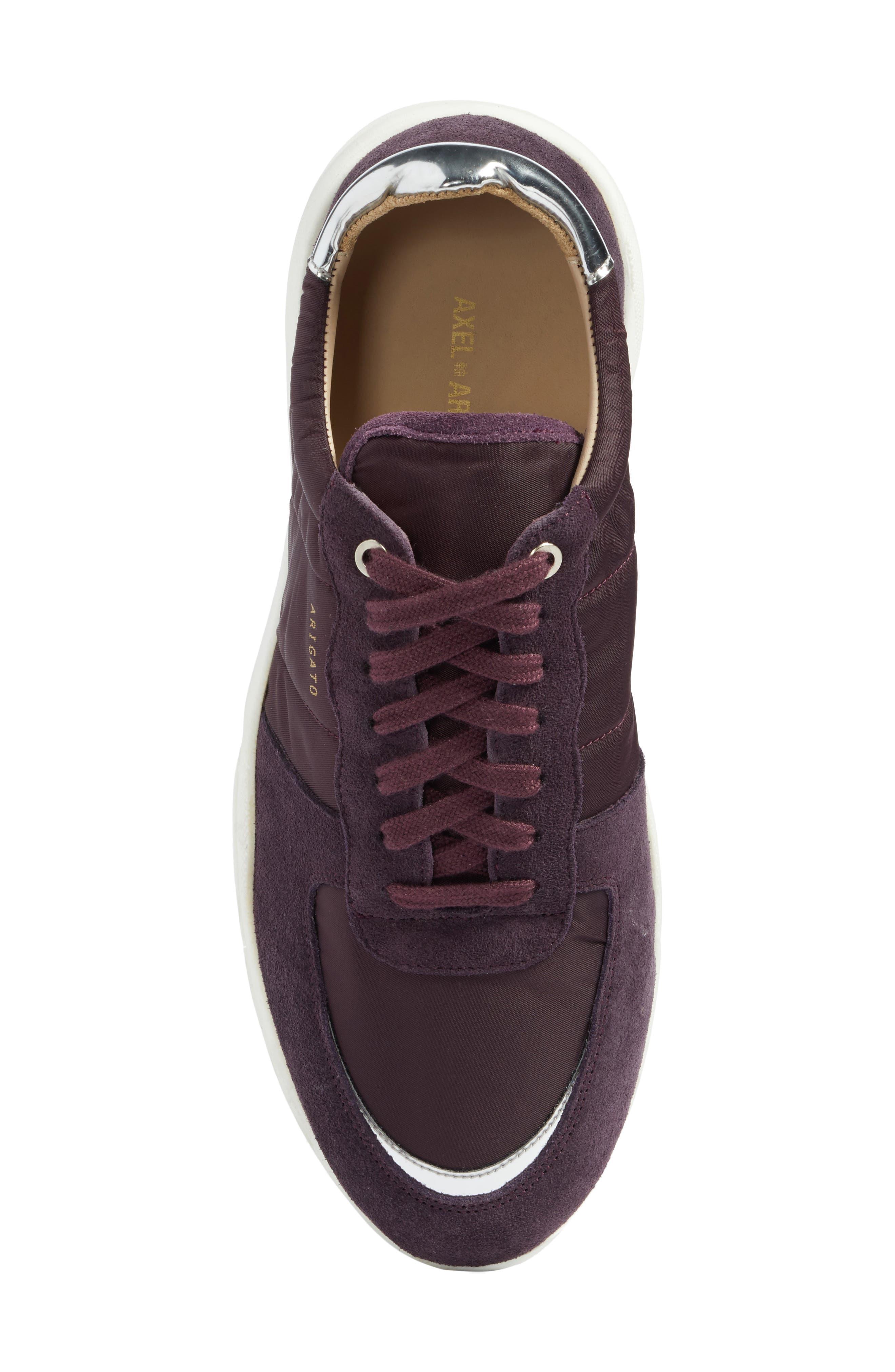 Geo Sneaker,                             Alternate thumbnail 5, color,                             Purple