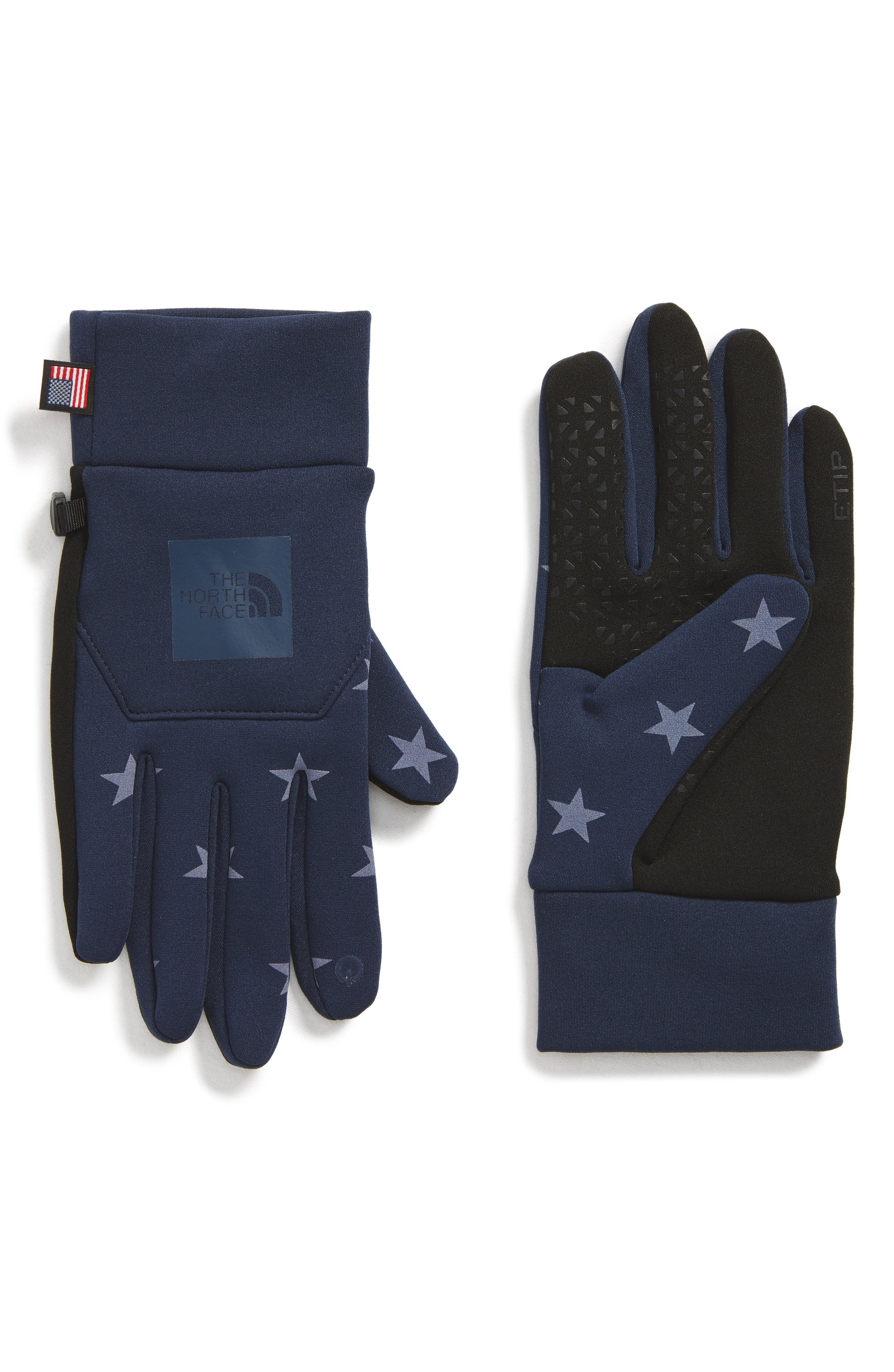 International Collection E-Tip Gloves,                         Main,                         color, Cosmic Blue