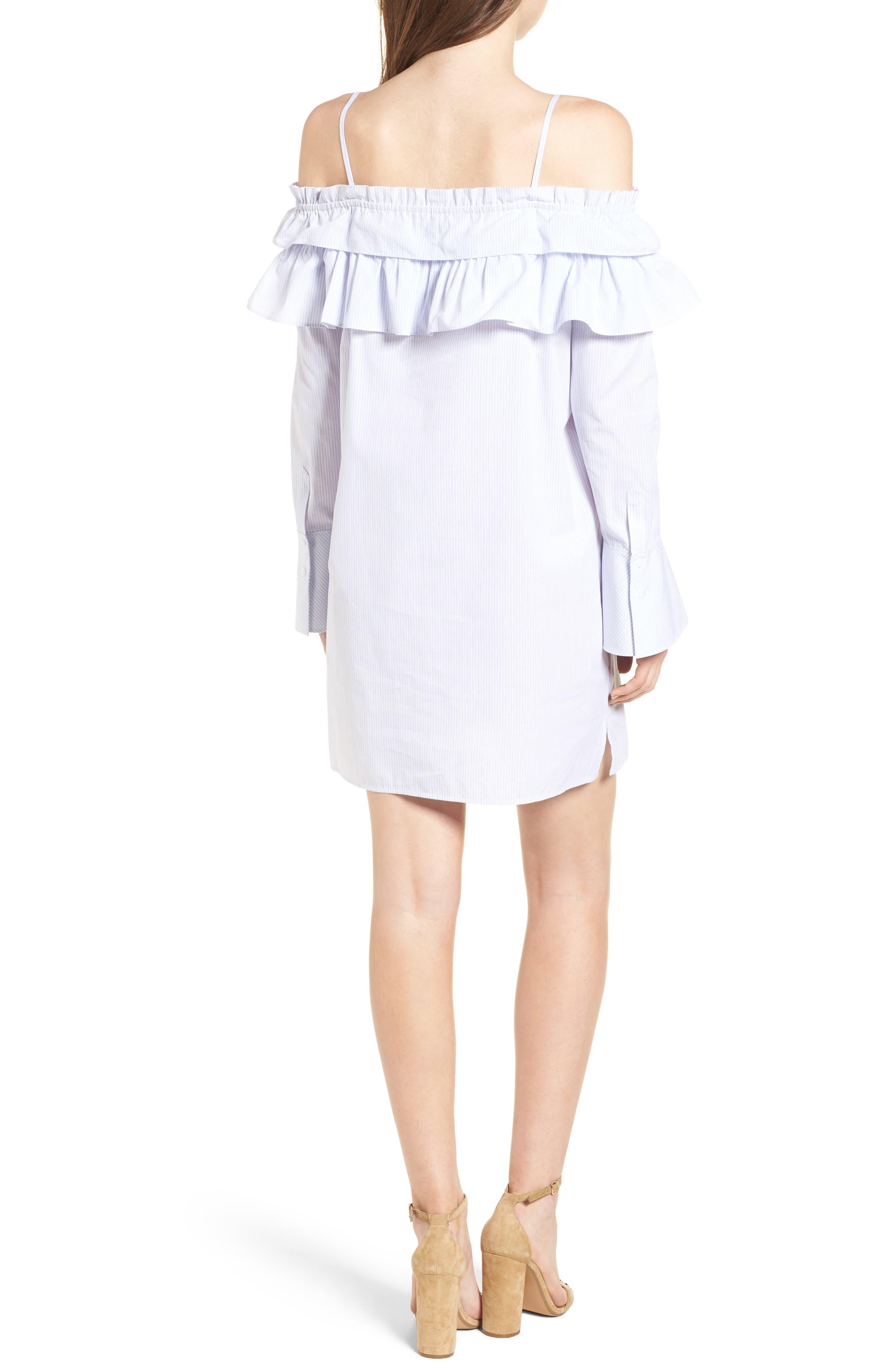 Alternate Image 2  - Rebecca Minkoff Pallas Off the Shoulder Minidress