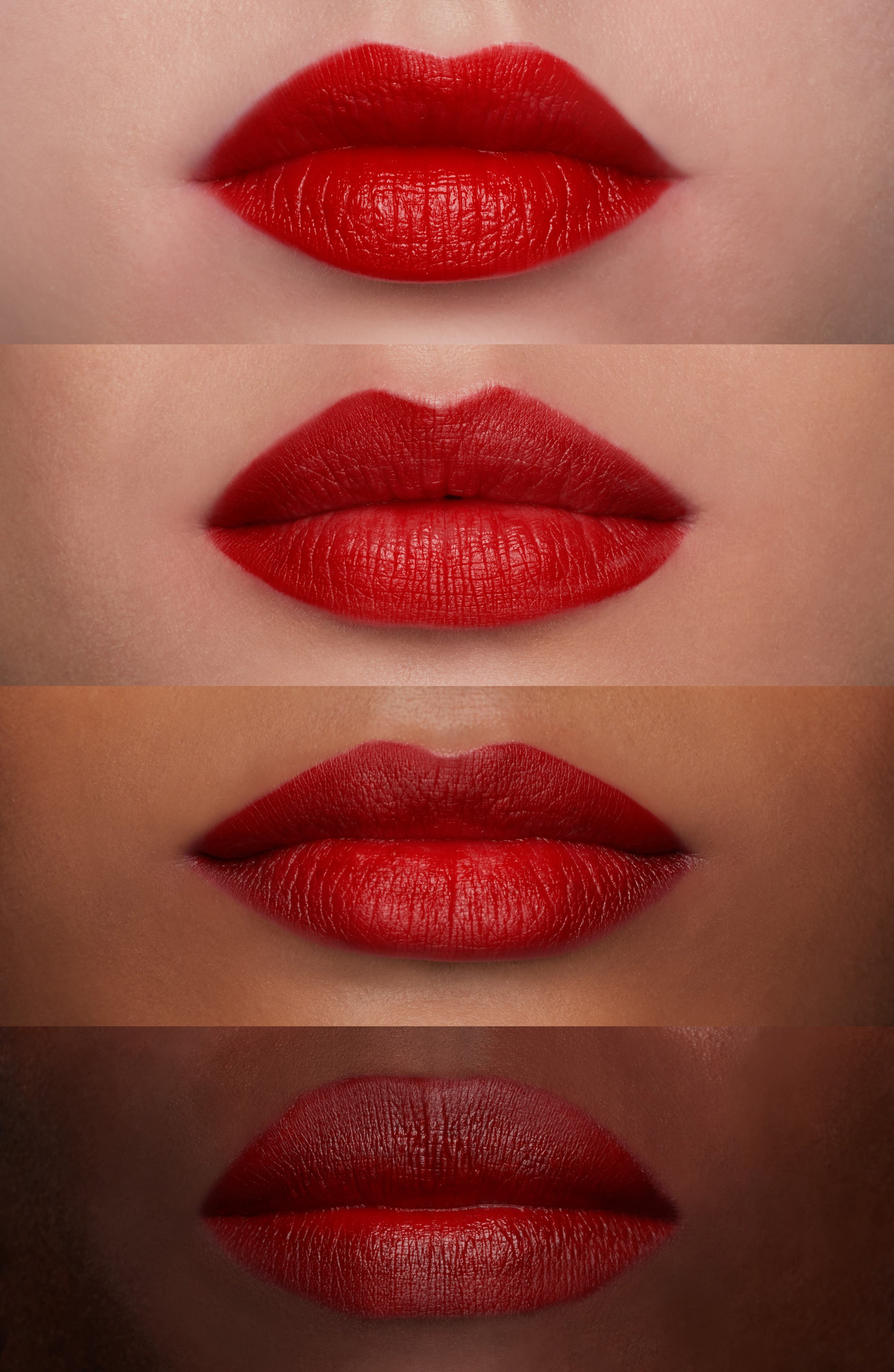 MAC Snow Ball Red Lip Bag,                             Alternate thumbnail 6, color,                             Red