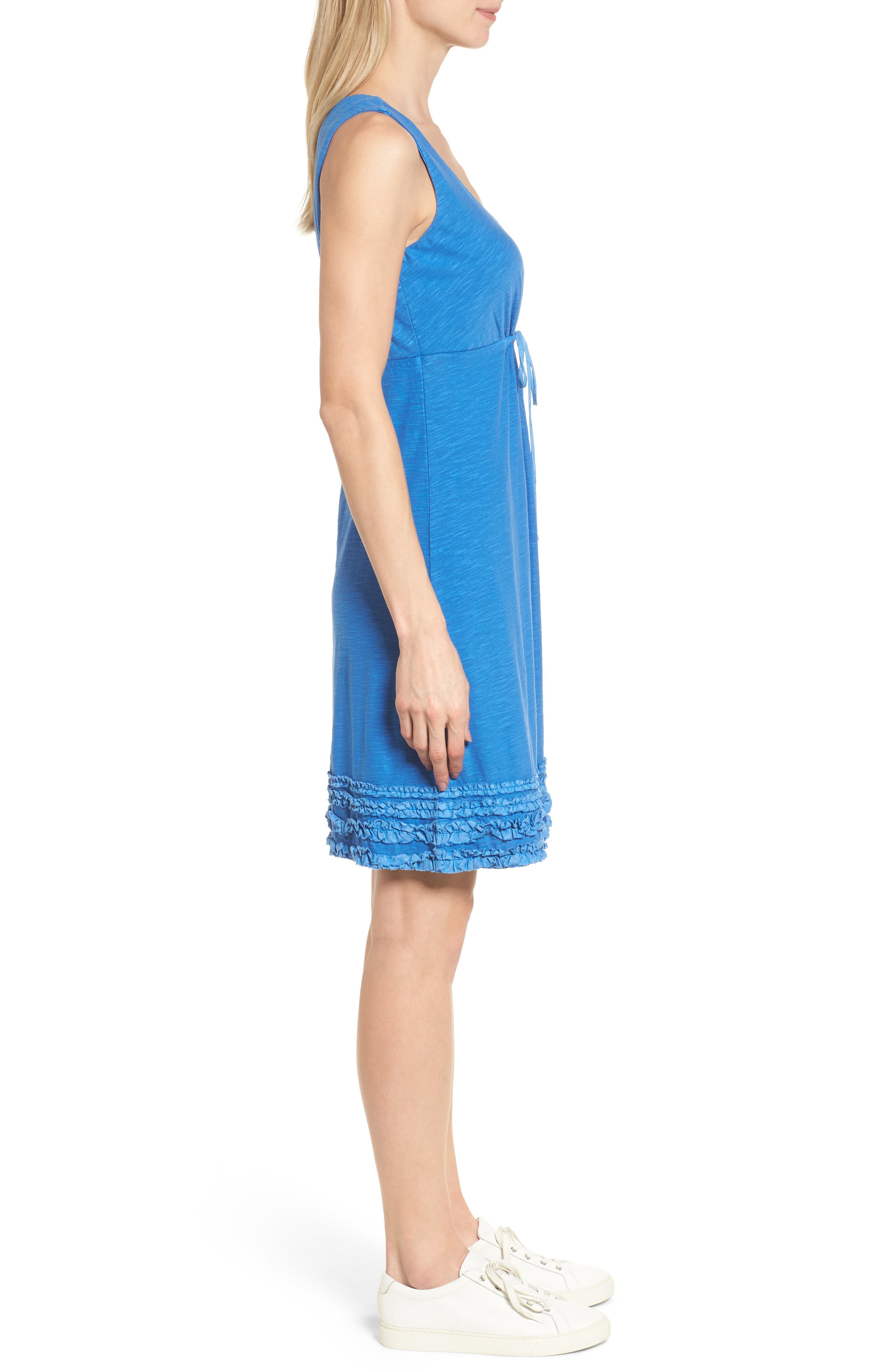 Alternate Image 3  - Tommy Bahama Arden Ruffle Hem Dress