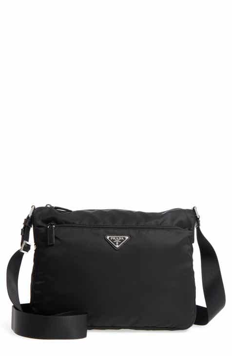Prada Large Nylon Crossbody Bag