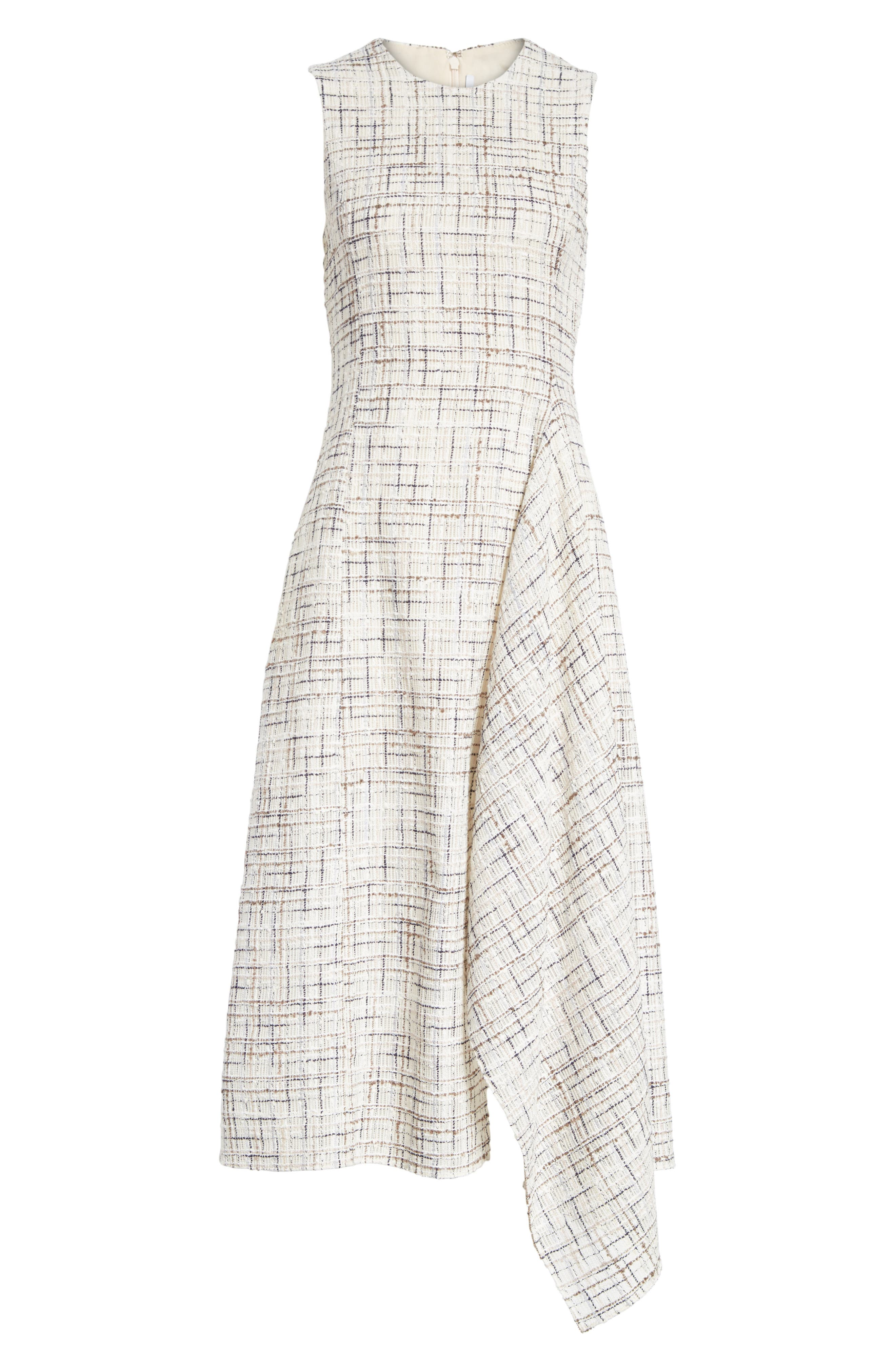Alternate Image 6  - Rosetta Getty Draped Tweed Dress