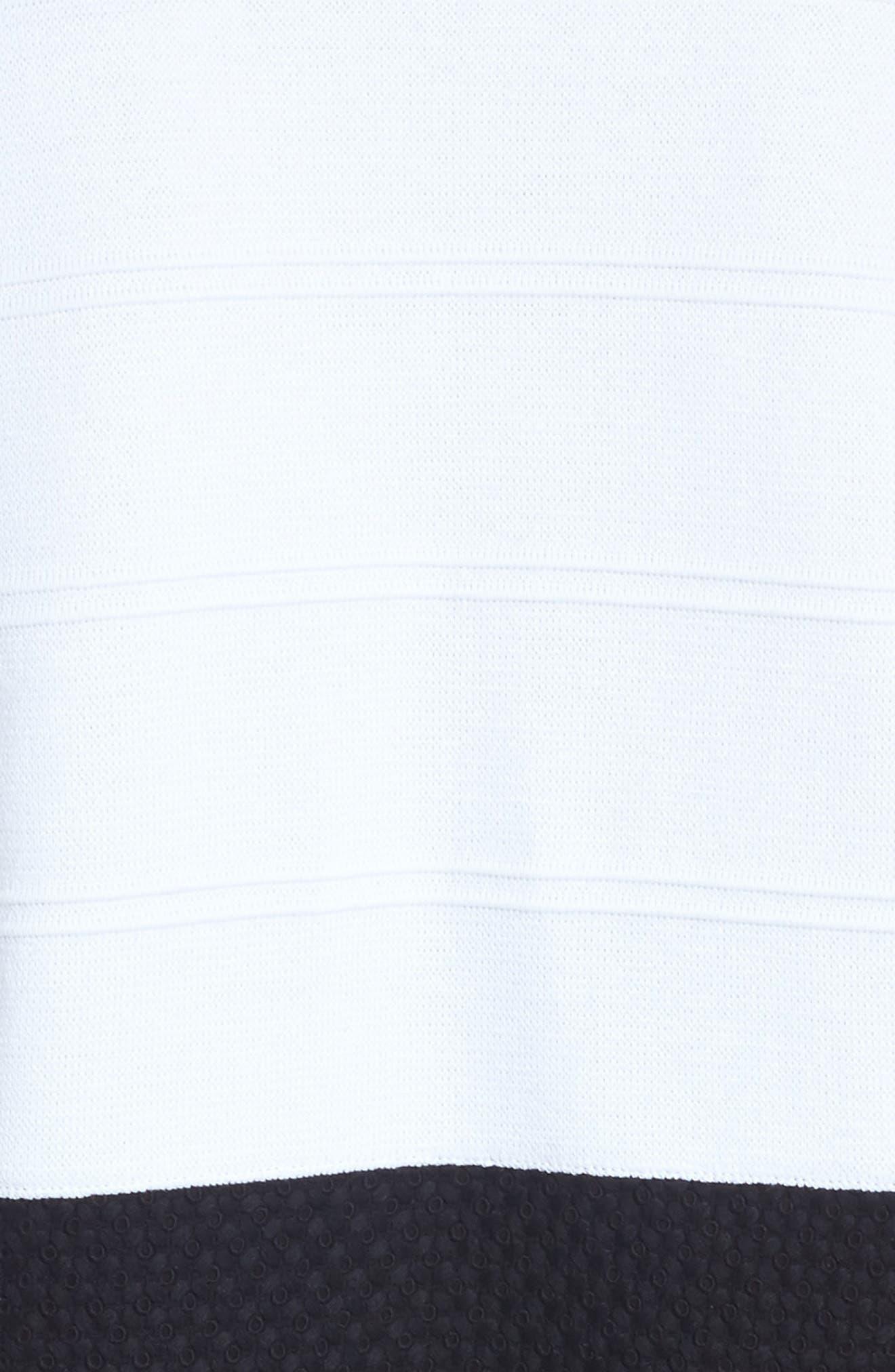 Alternate Image 5  - Ming Wang Knit & Lace Tunic