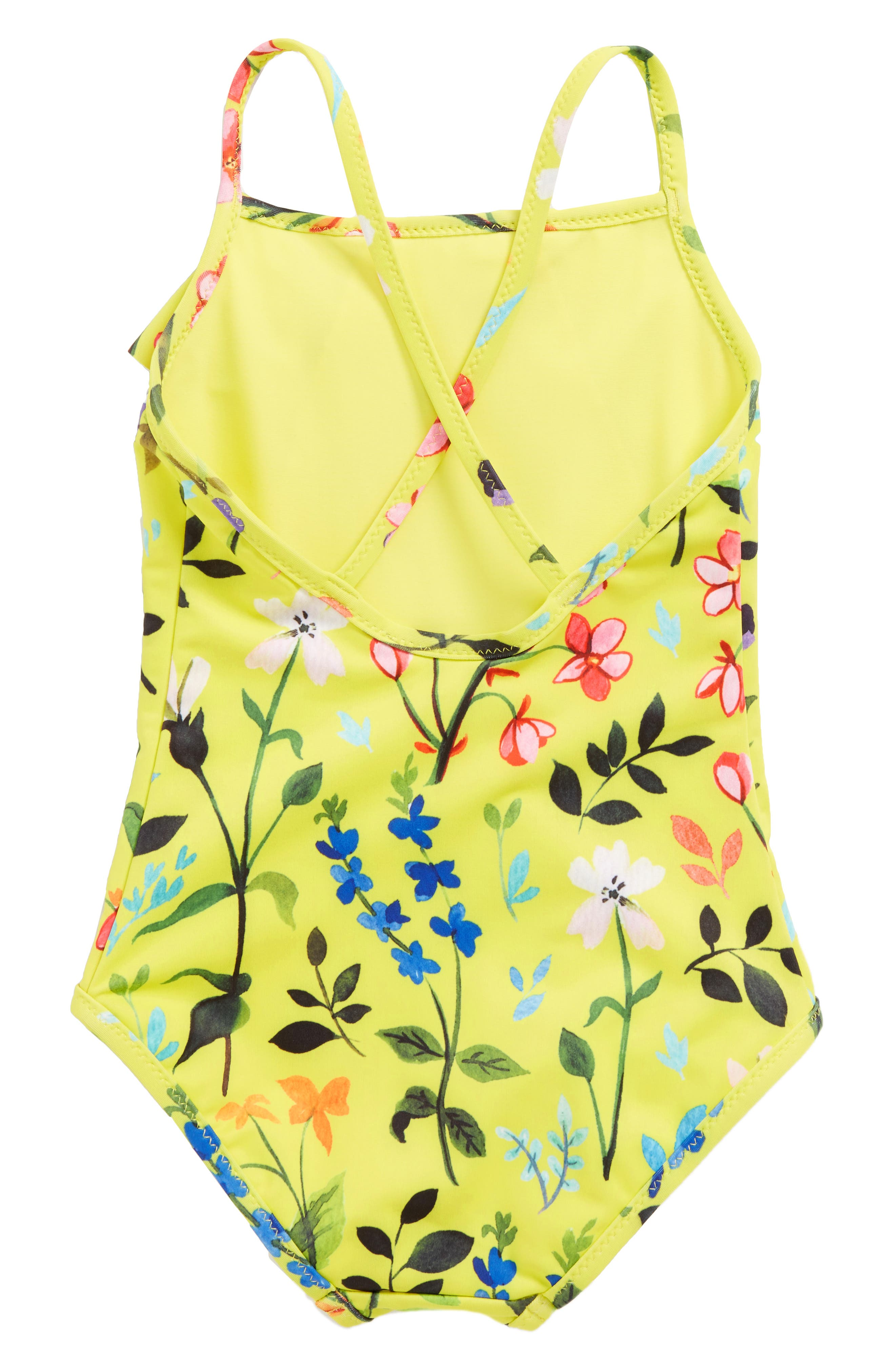 Alternate Image 2  - Oscar de la Renta Springfield One-Piece Swimsuit (Toddler Girls, Little Girls & Big Girls)