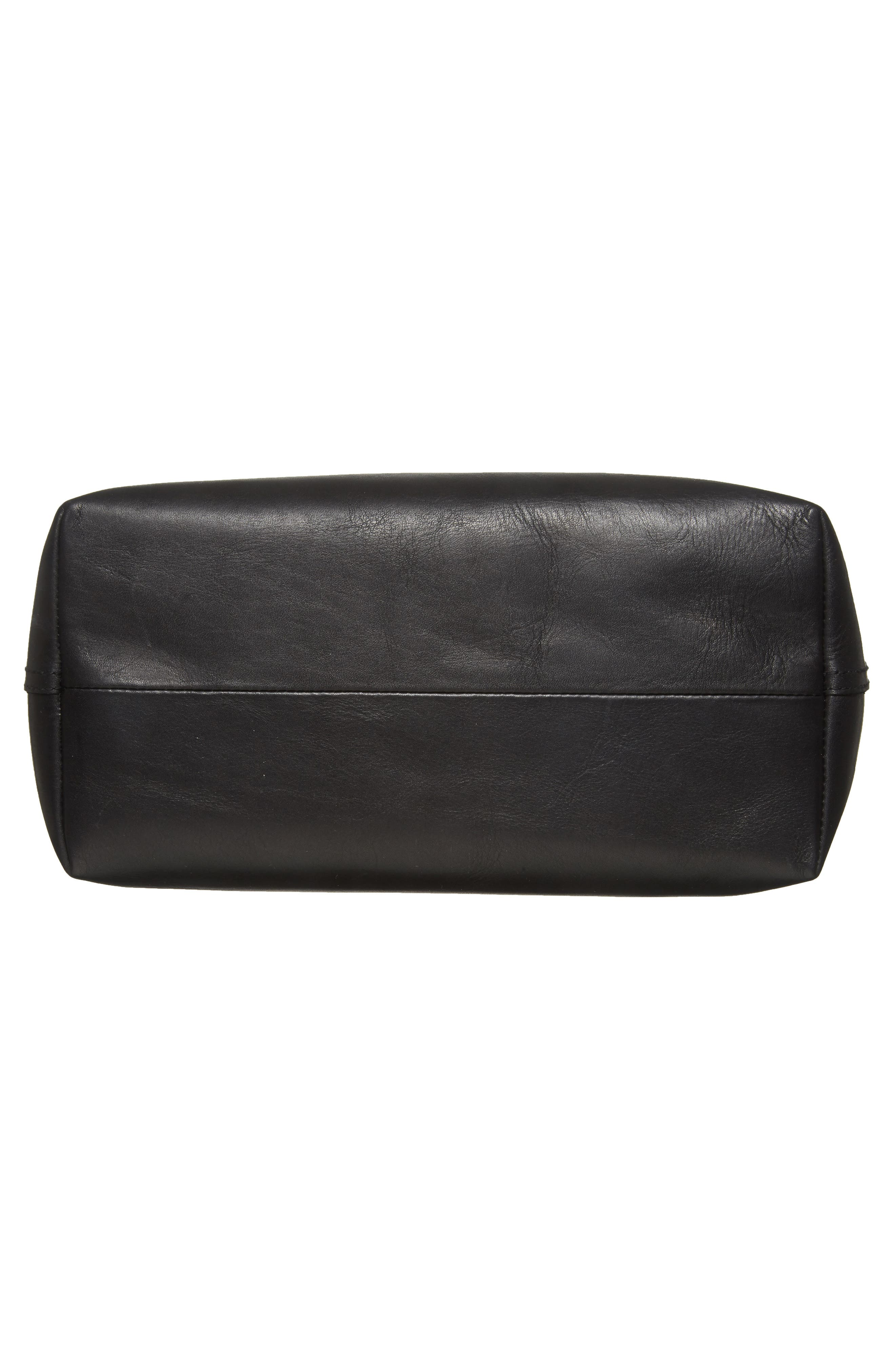 Alternate Image 6  - Madewell Zip Top Transport Leather Carryall