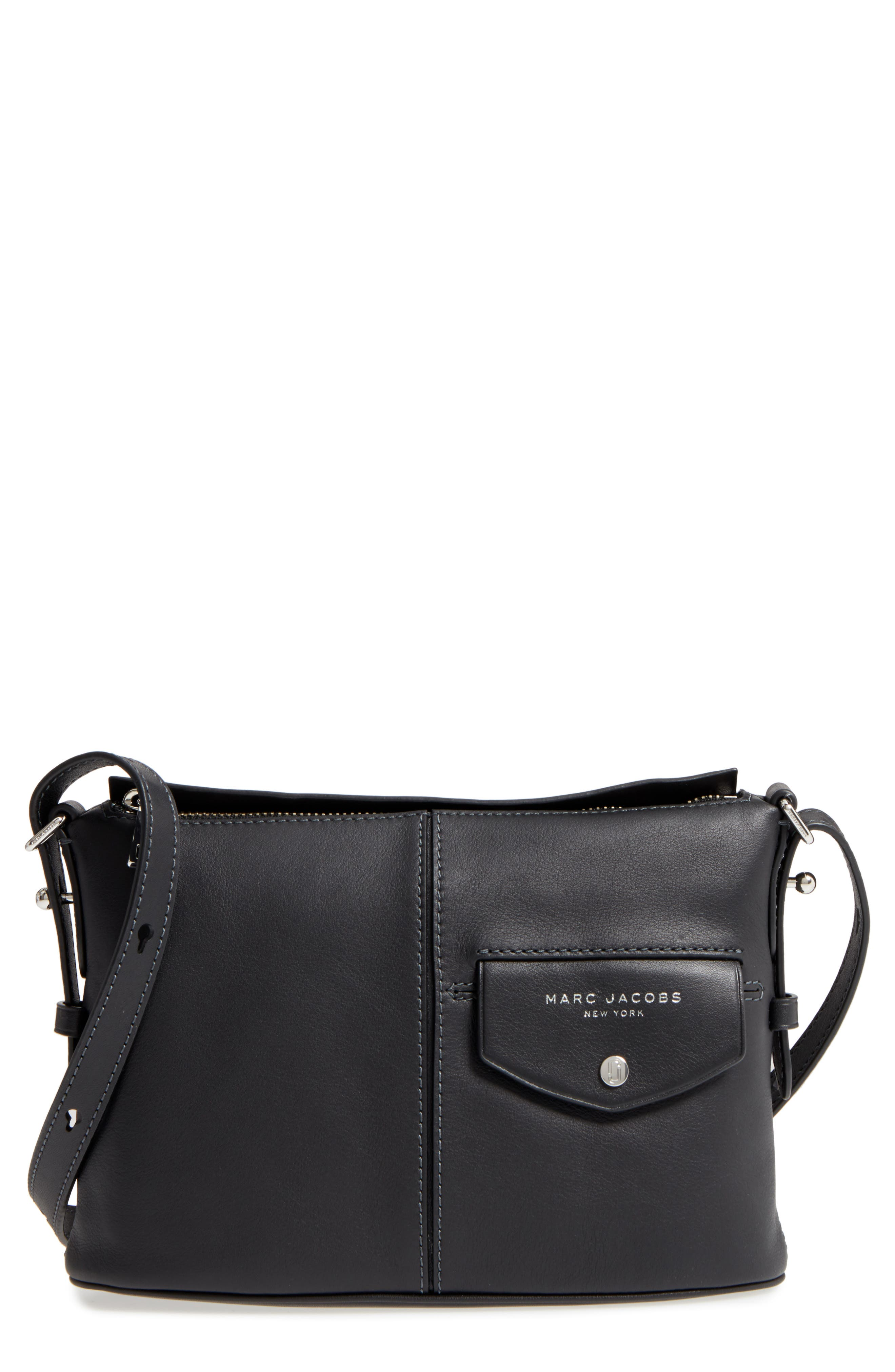 Alternate Image 1 Selected - MARC JACOBS The Side Sling Leather Crossbody Bag