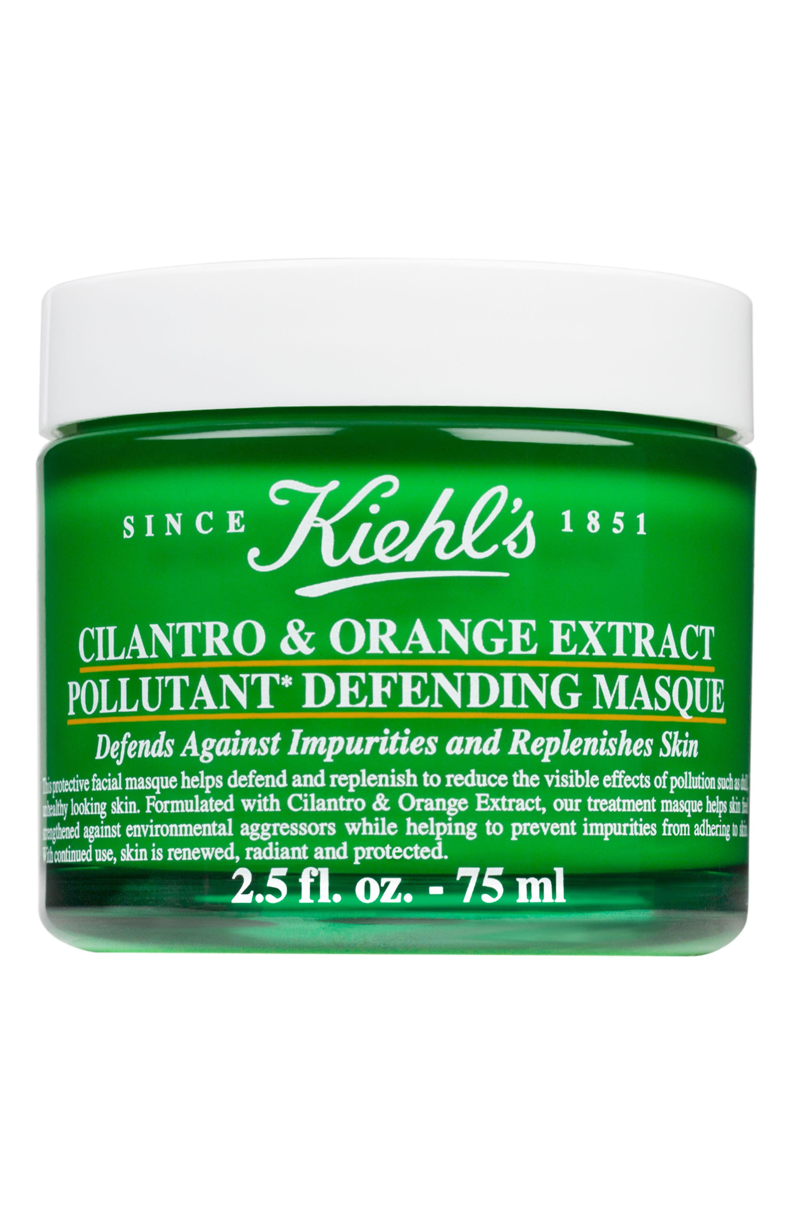 Kiehl's Since 1851 'Cilantro & Orange Extract' Pollutant Defending Masque