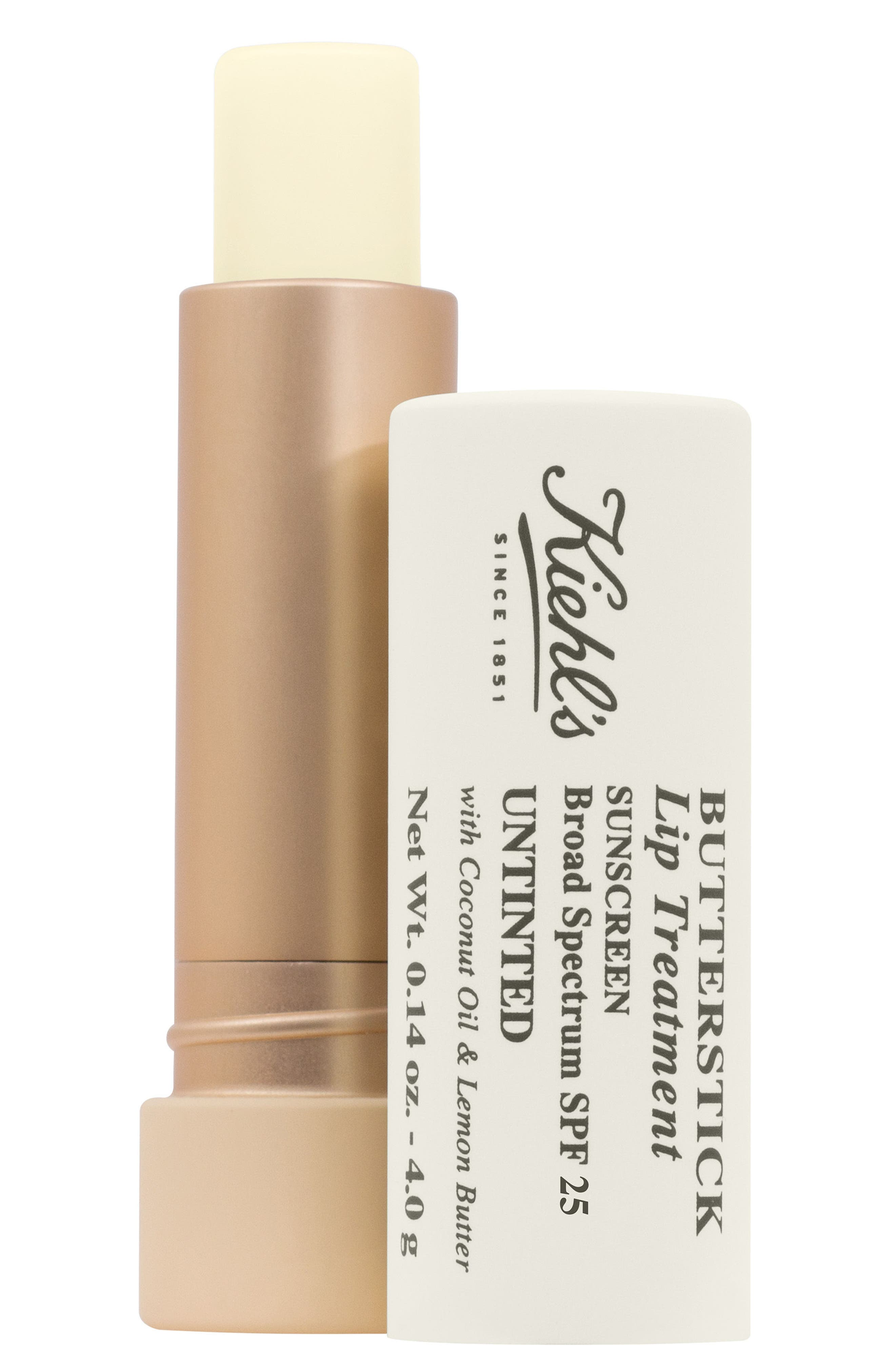 Butterstick Lip Treatment SPF 25,                             Main thumbnail 1, color,                             Clear