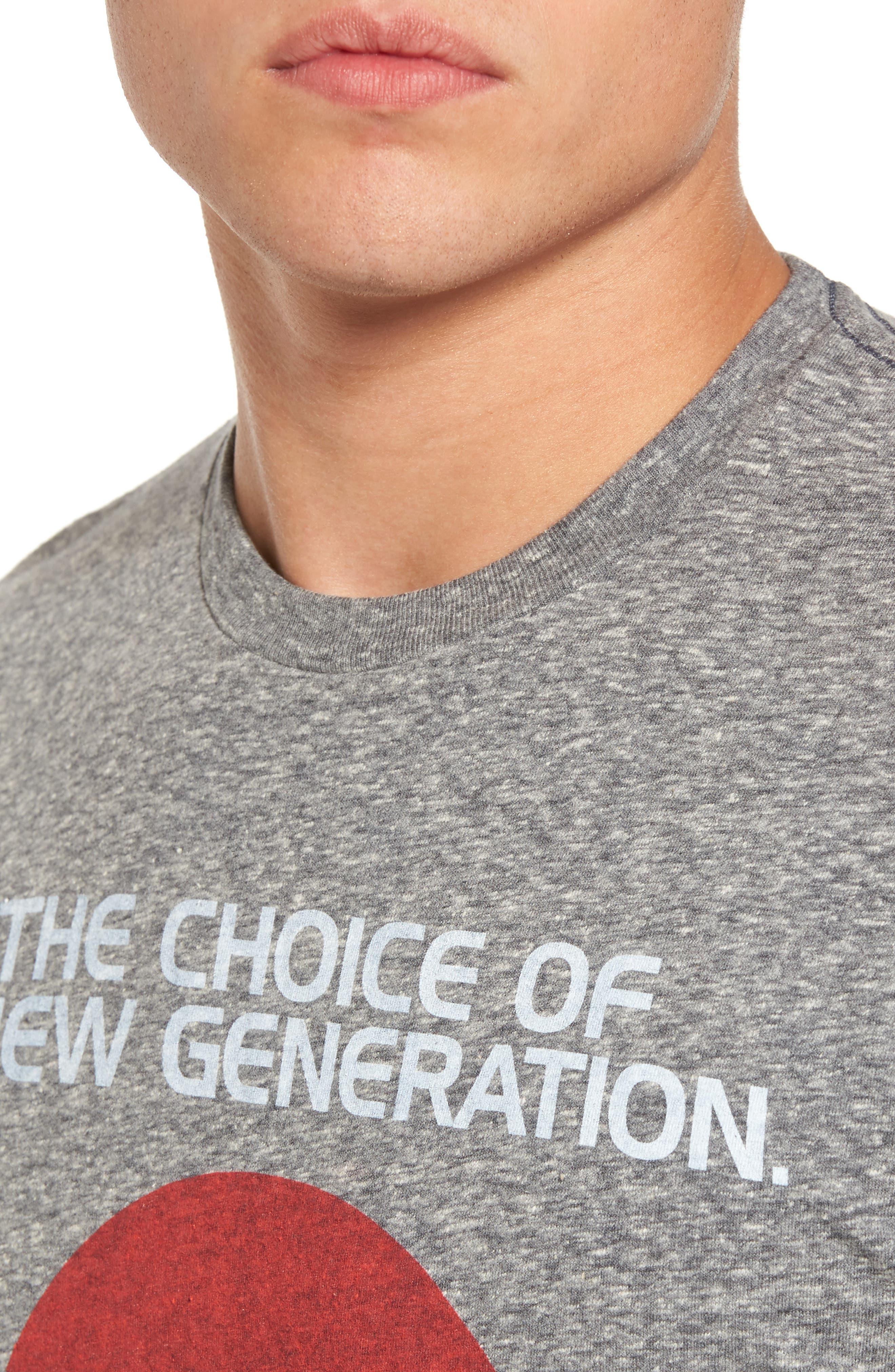 Pepsi Logo T-Shirt,                             Alternate thumbnail 4, color,                             Black Pepsi Logo