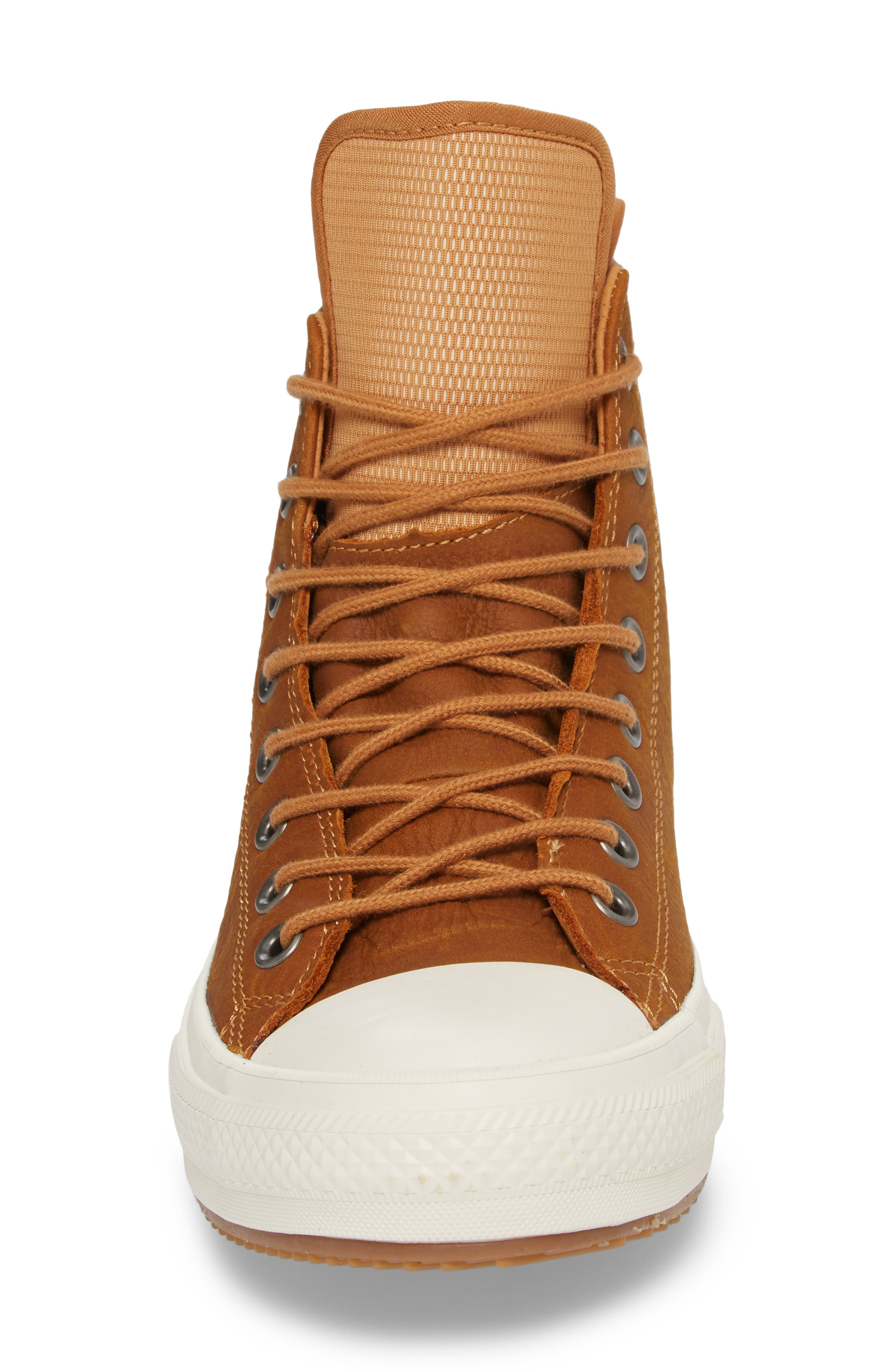 Chuck Taylor<sup>®</sup> All Star<sup>®</sup> Waterproof Sneaker,                             Alternate thumbnail 4, color,                             Raw Sugar