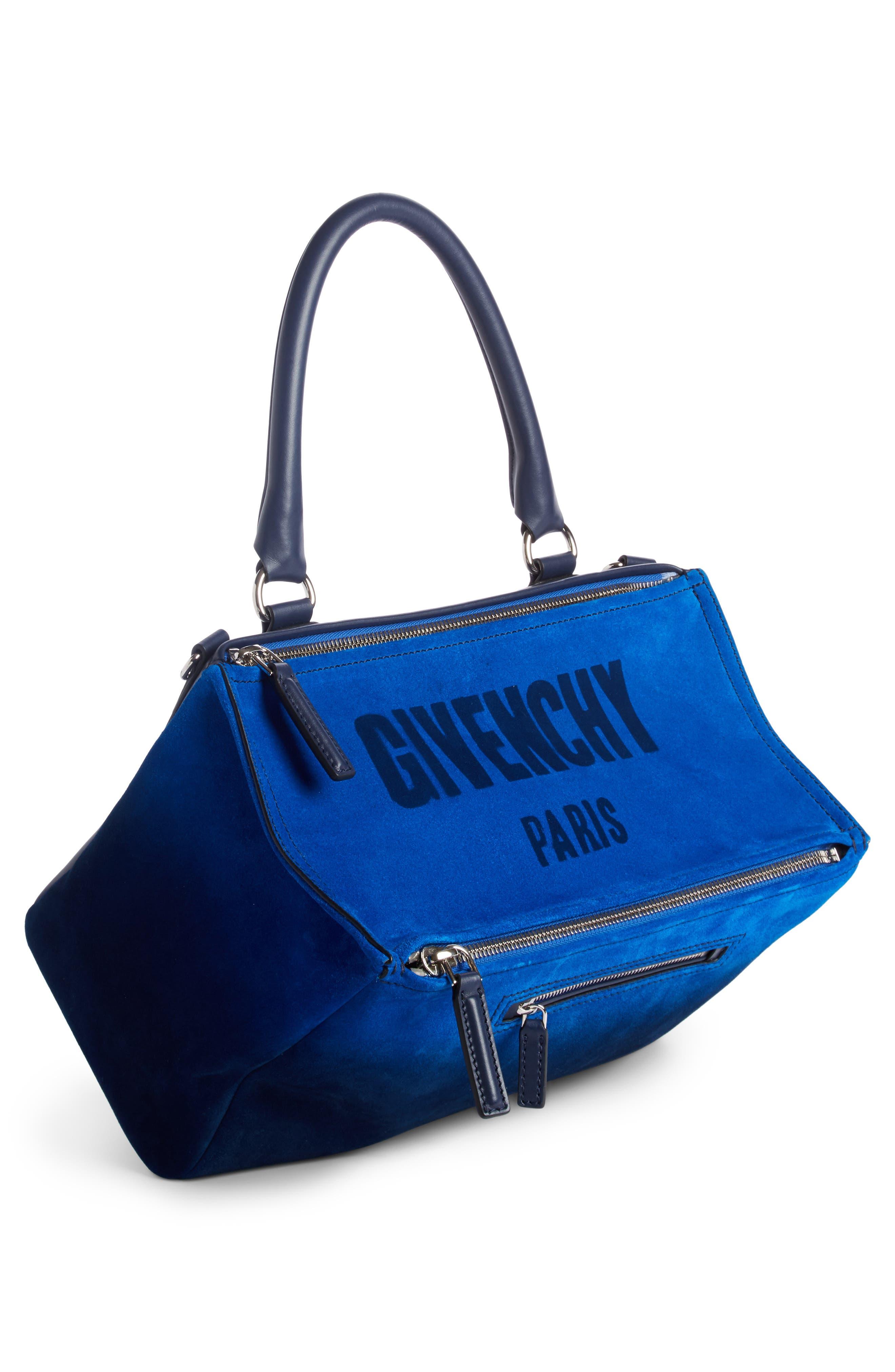 Alternate Image 2  - Givenchy Small Pandora Dégradé Suede & Leather Satchel