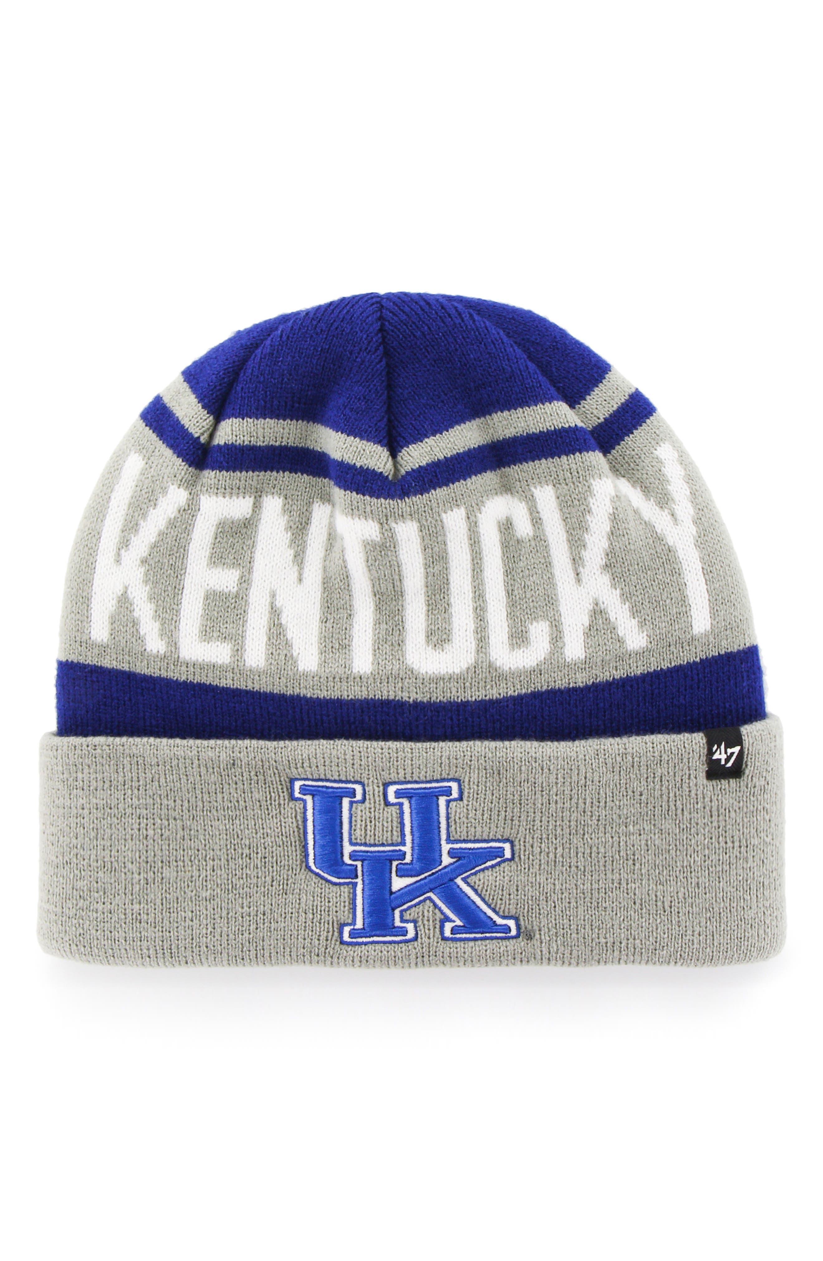 47 Brand University of Kentucky Knit Beanie,                         Main,                         color, Kentucky Wildcats