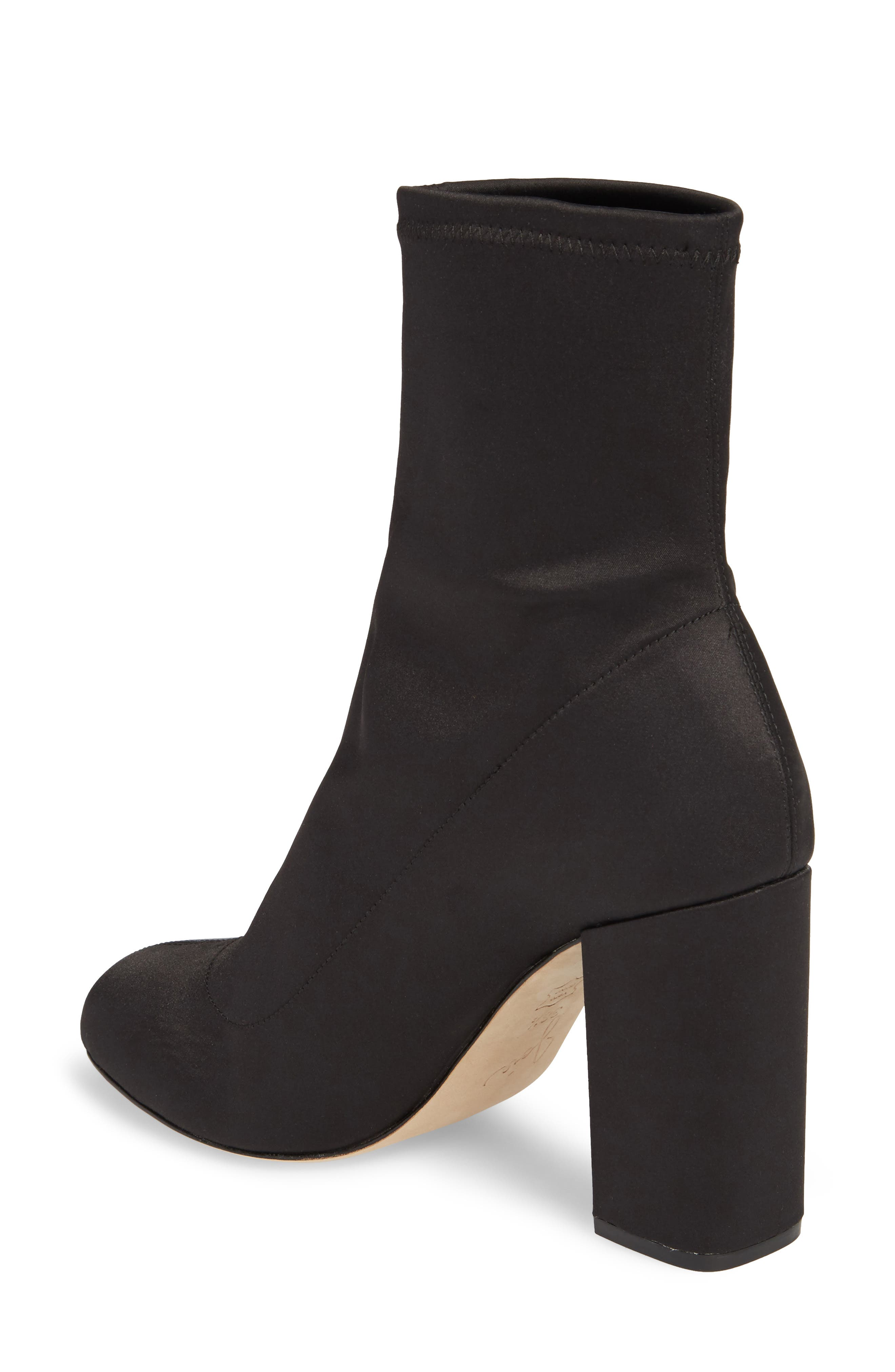 Alternate Image 2  - Joie Sabriyya Sock Satin Bootie (Women)