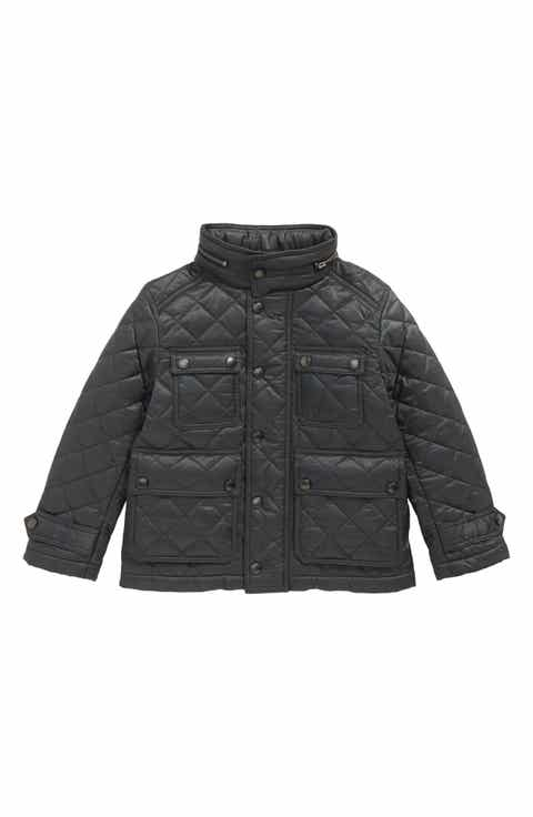 Burberry Halesworth Quilted Field Jacket Little Boys Big Boys