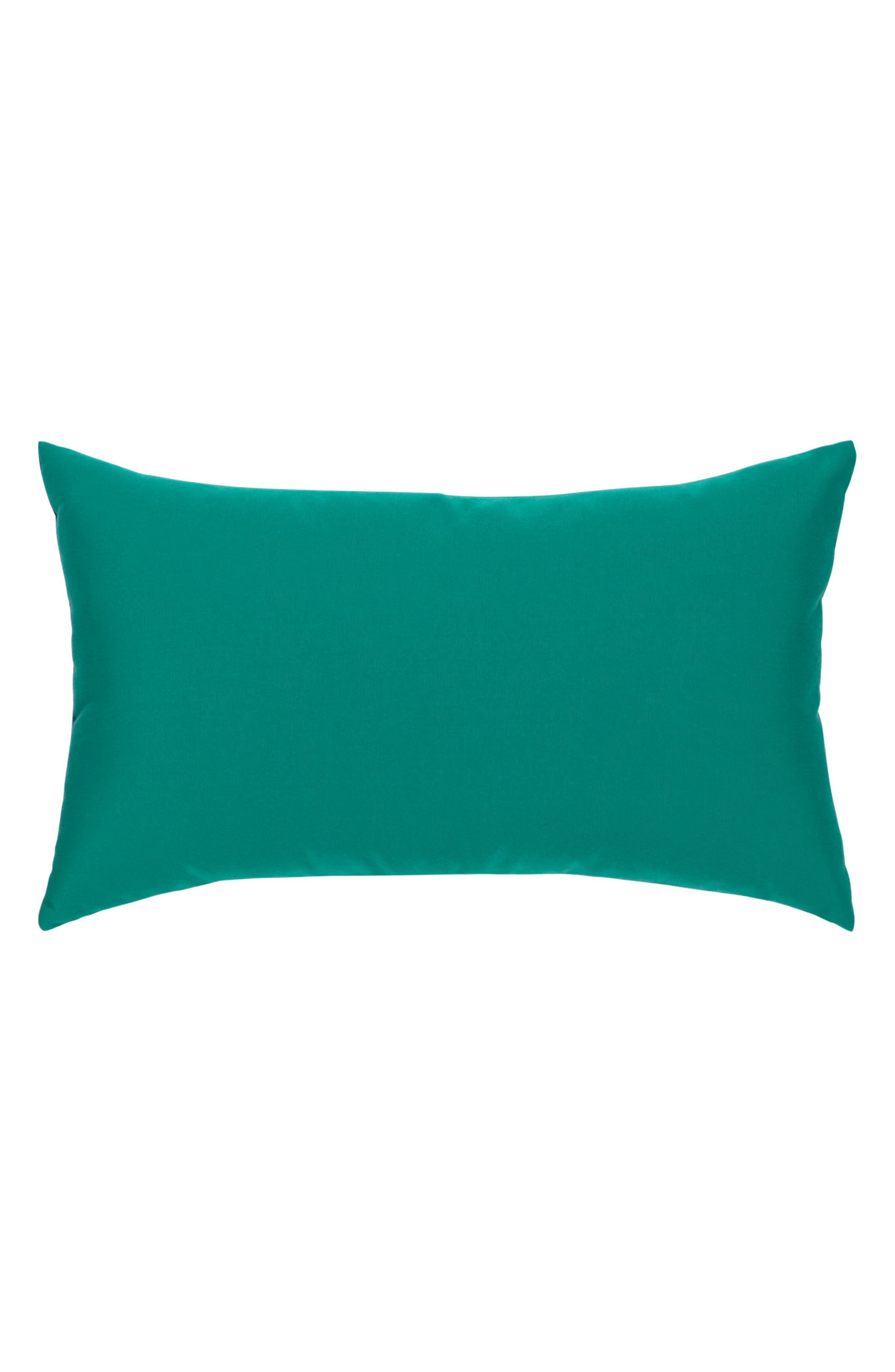 Eden Texture Indoor/Outdoor Accent Pillow,                             Alternate thumbnail 2, color,                             Blue Green