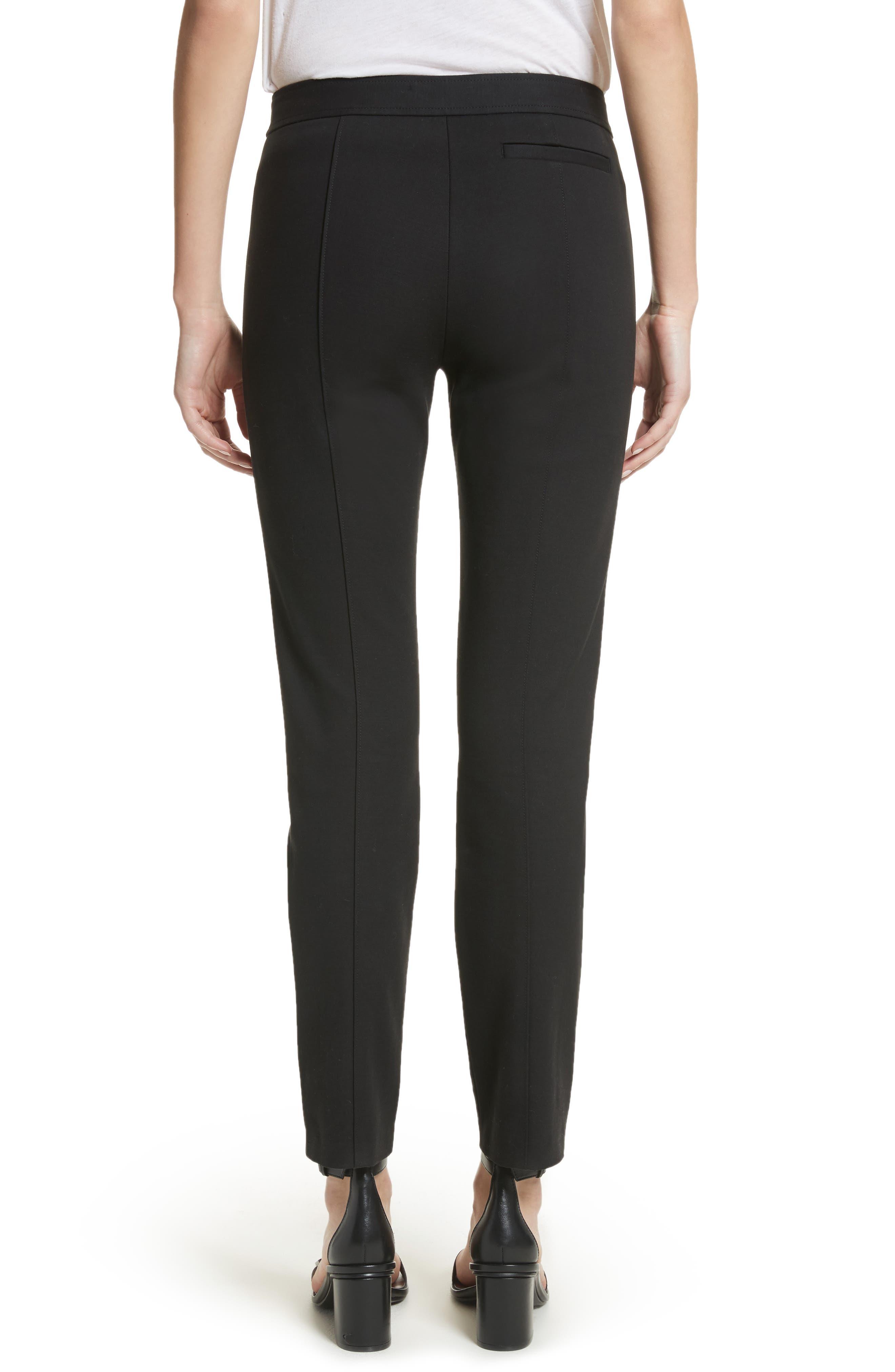 Vanner Slim Leg Ankle Pants,                             Alternate thumbnail 2, color,                             Black