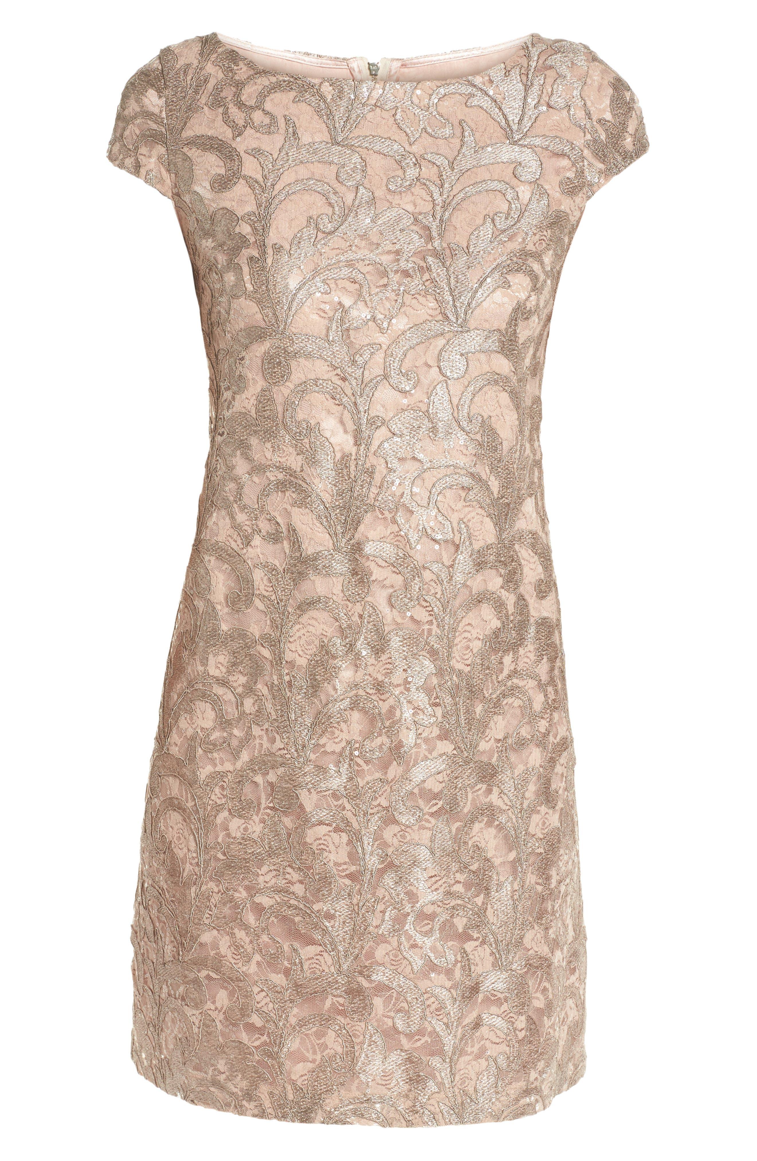 Alternate Image 6  - Eliza J Lace Shift Dress