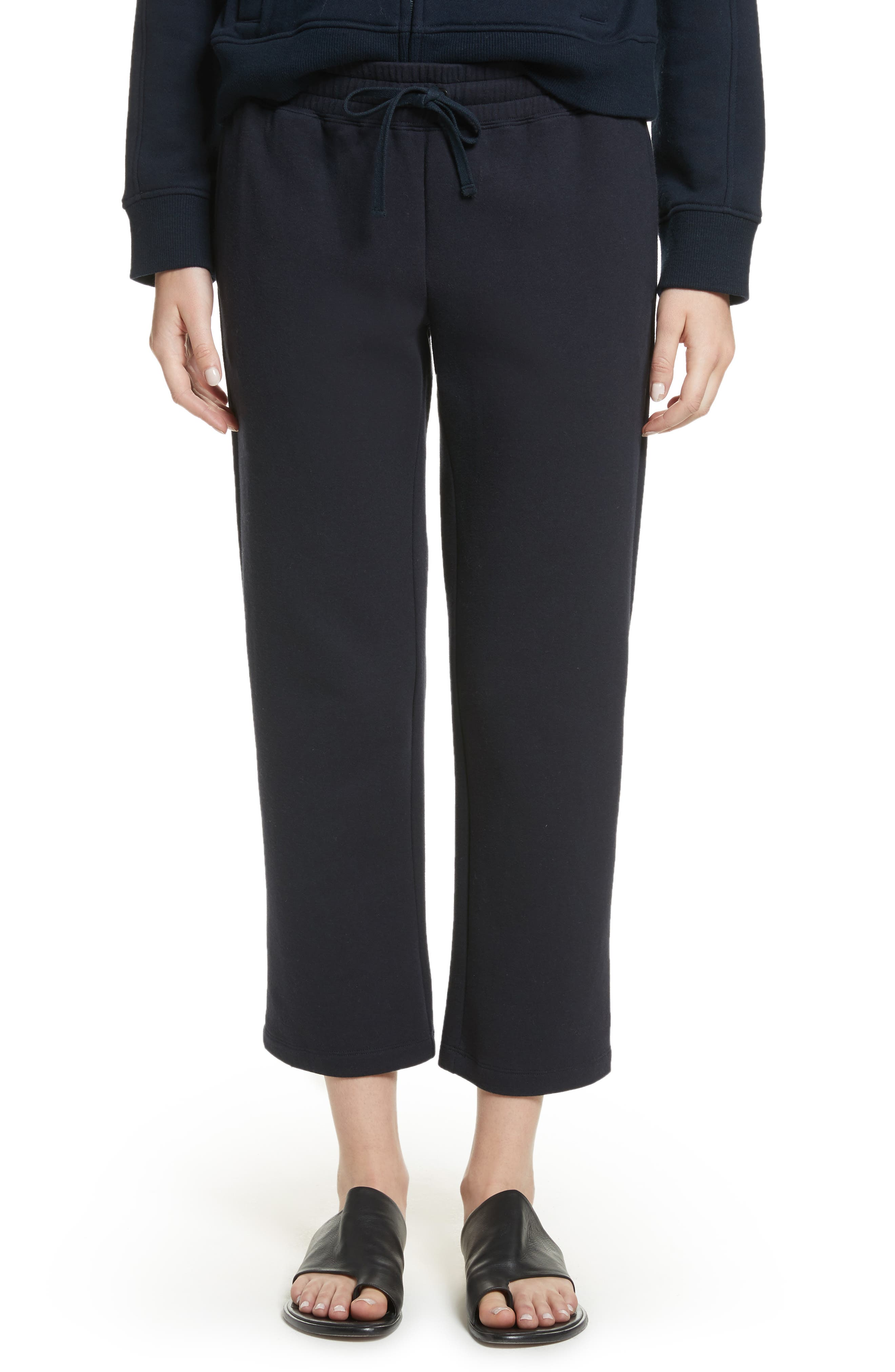 Cropped Sweats,                         Main,                         color, Black