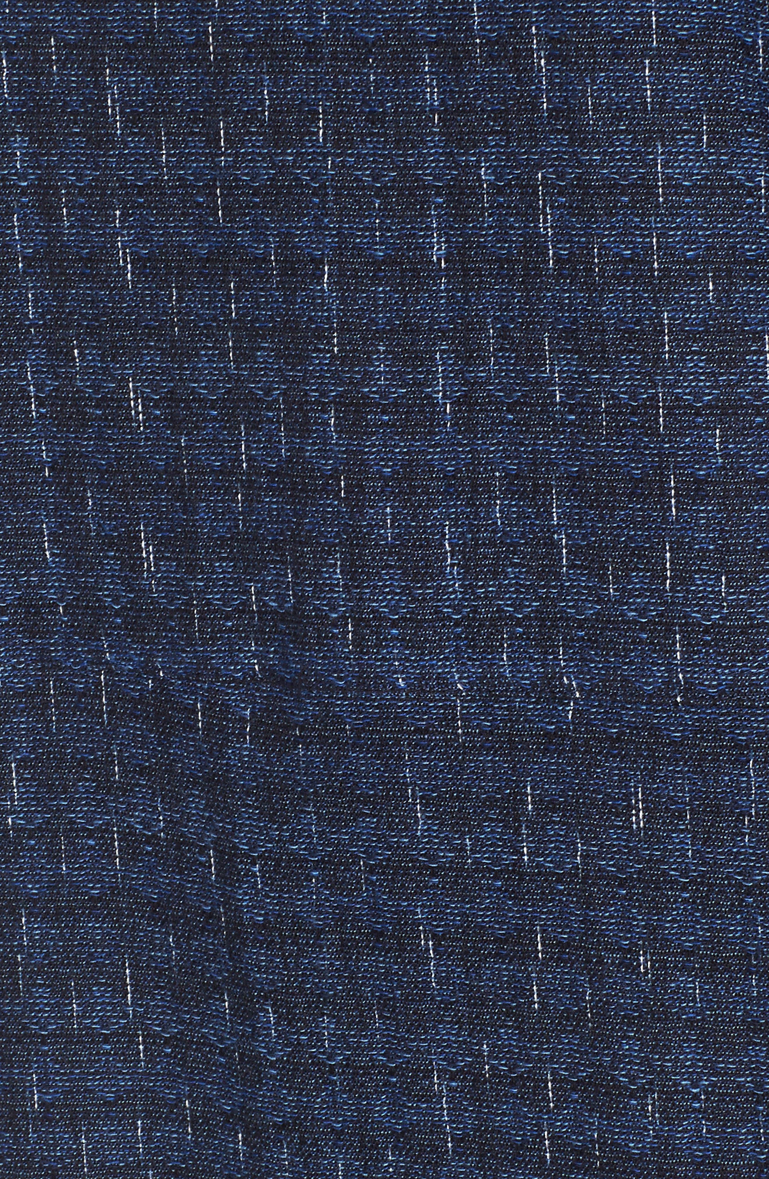 Alternate Image 5  - Eileen Fisher Organic Cotton Jacquard Shift Dress