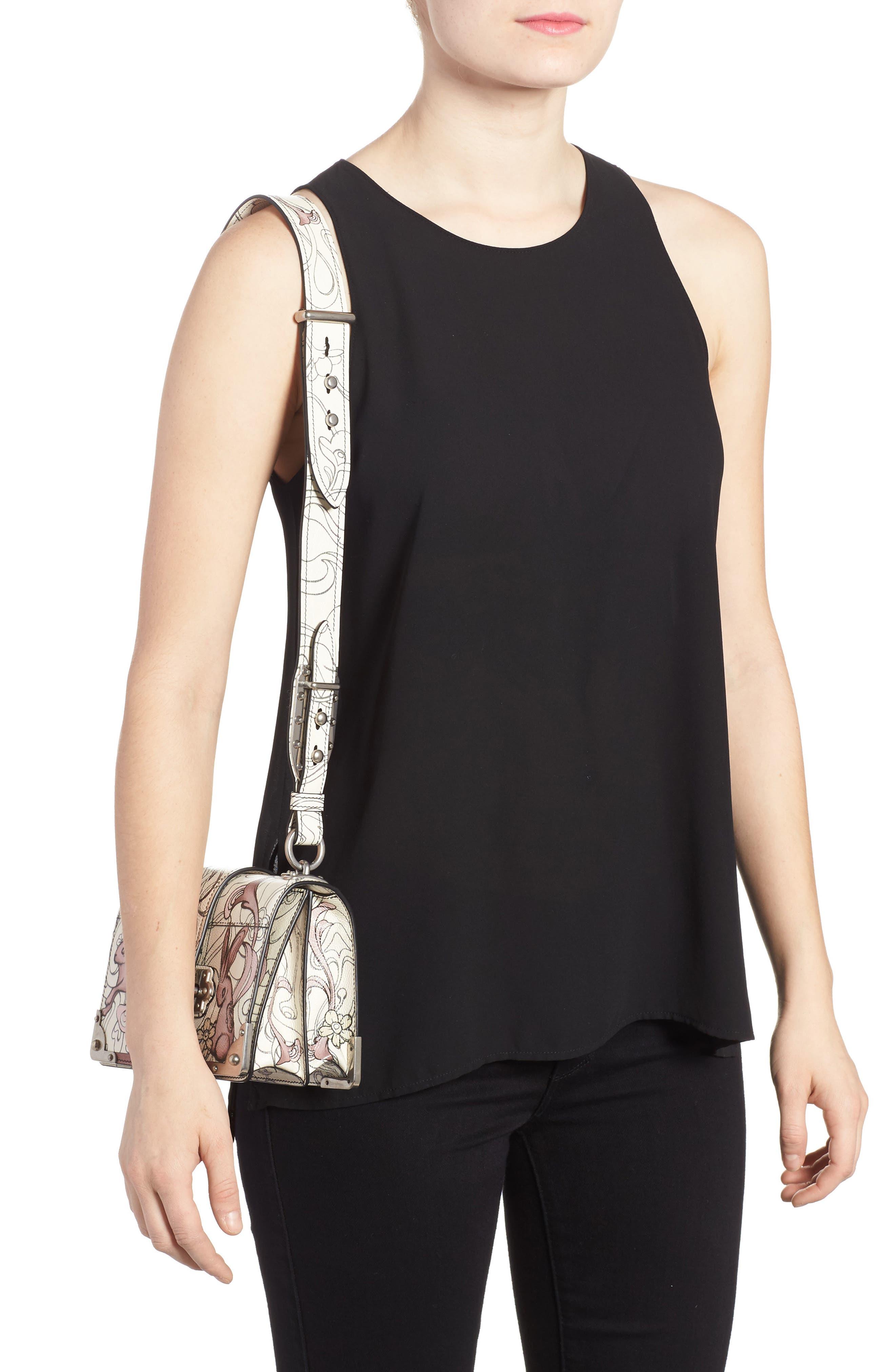 Alternate Image 2  - Prada Cahier Calfskin Shoulder Bag