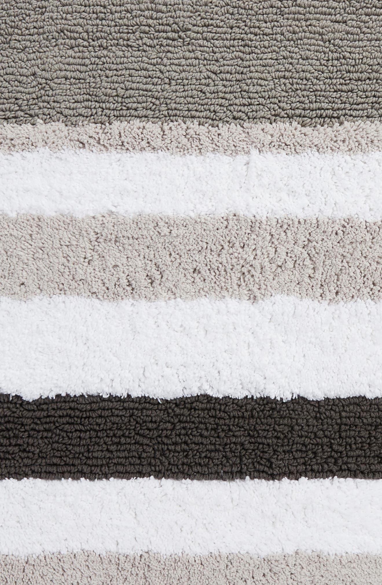 Stripe Rug,                             Alternate thumbnail 2, color,                             Grey Magnet