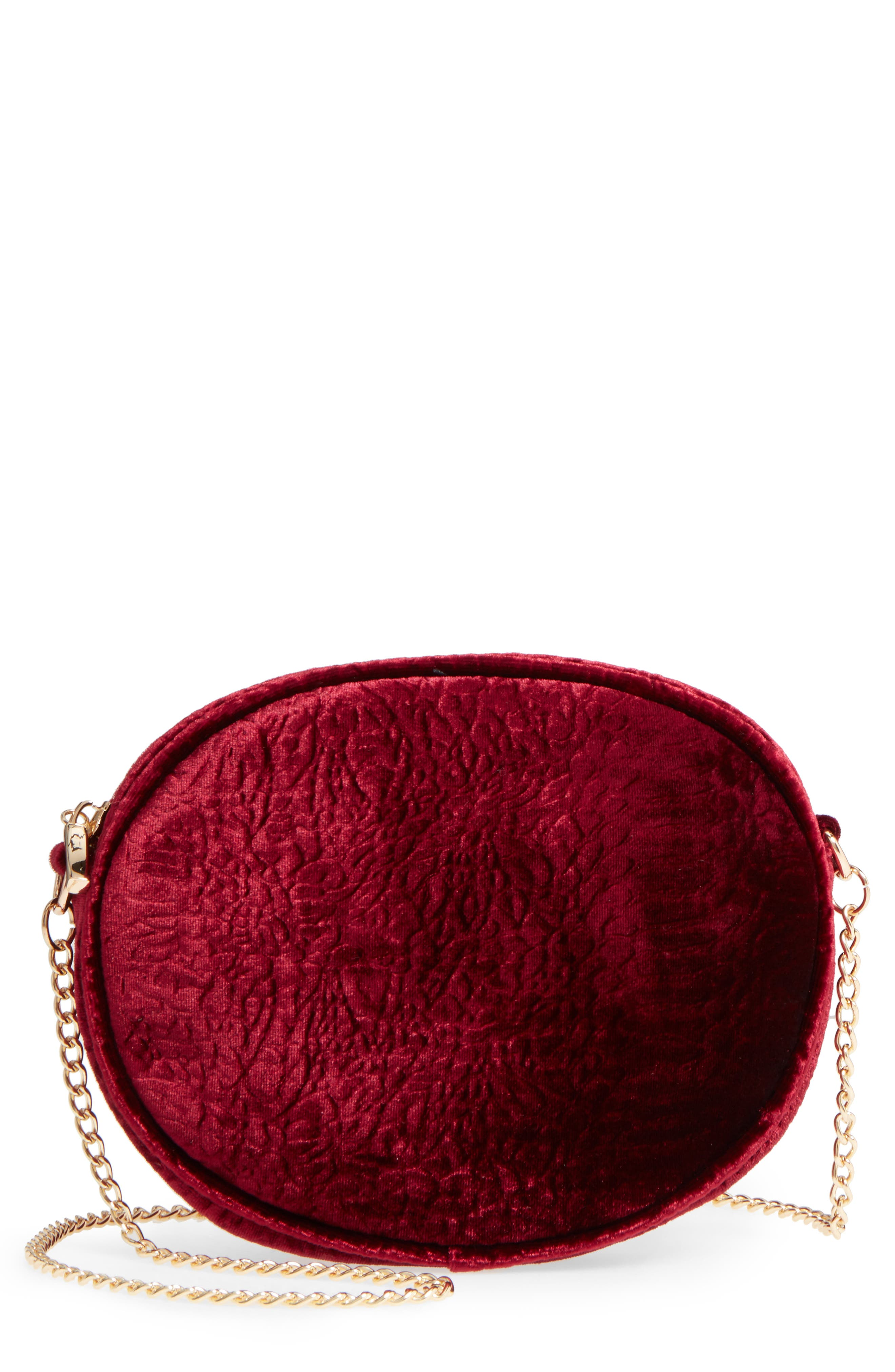 Miza Crossbody Bag,                             Main thumbnail 1, color,                             Ruby