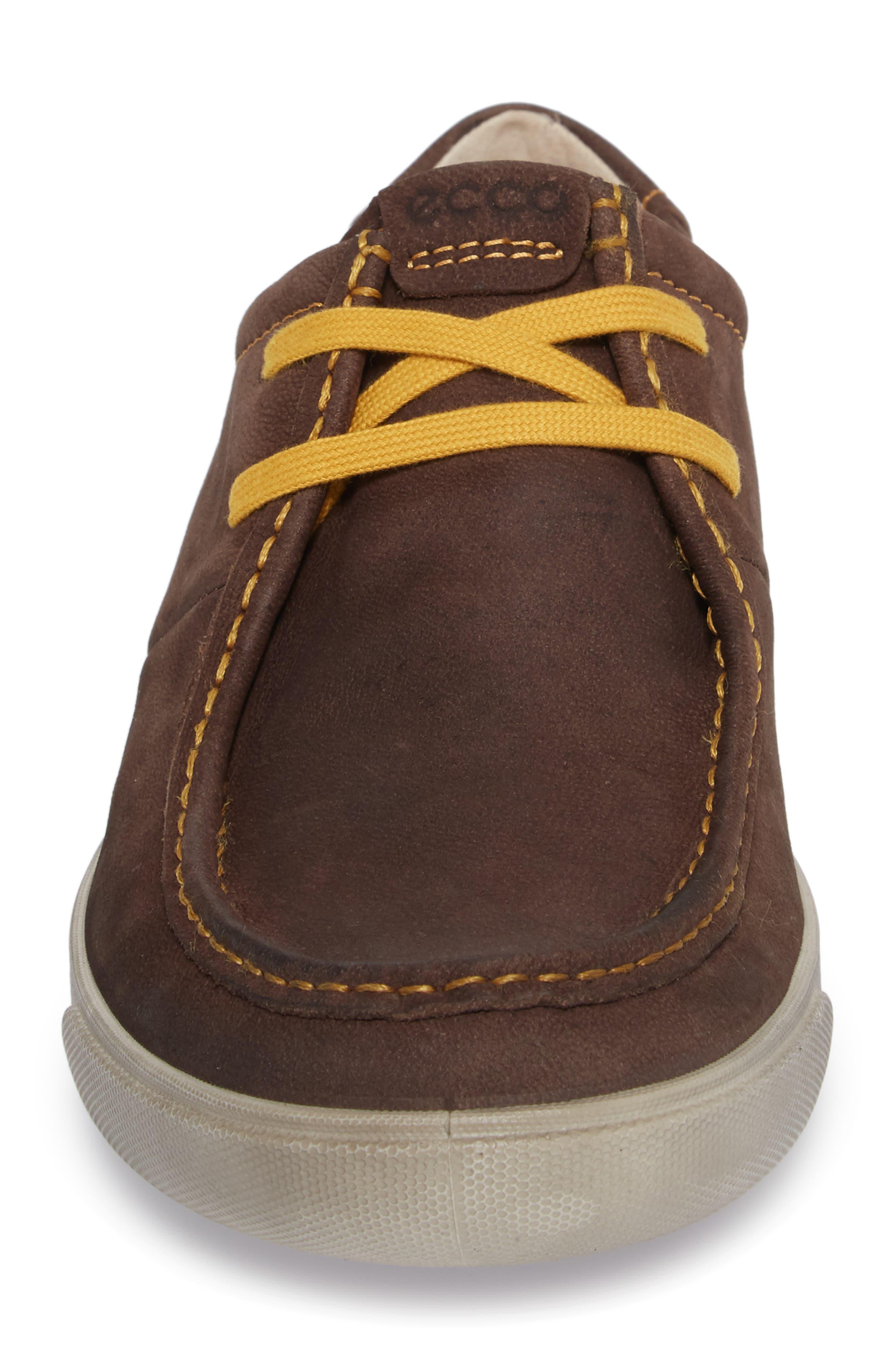 Gary Sneaker,                             Alternate thumbnail 4, color,                             Mocha Leather