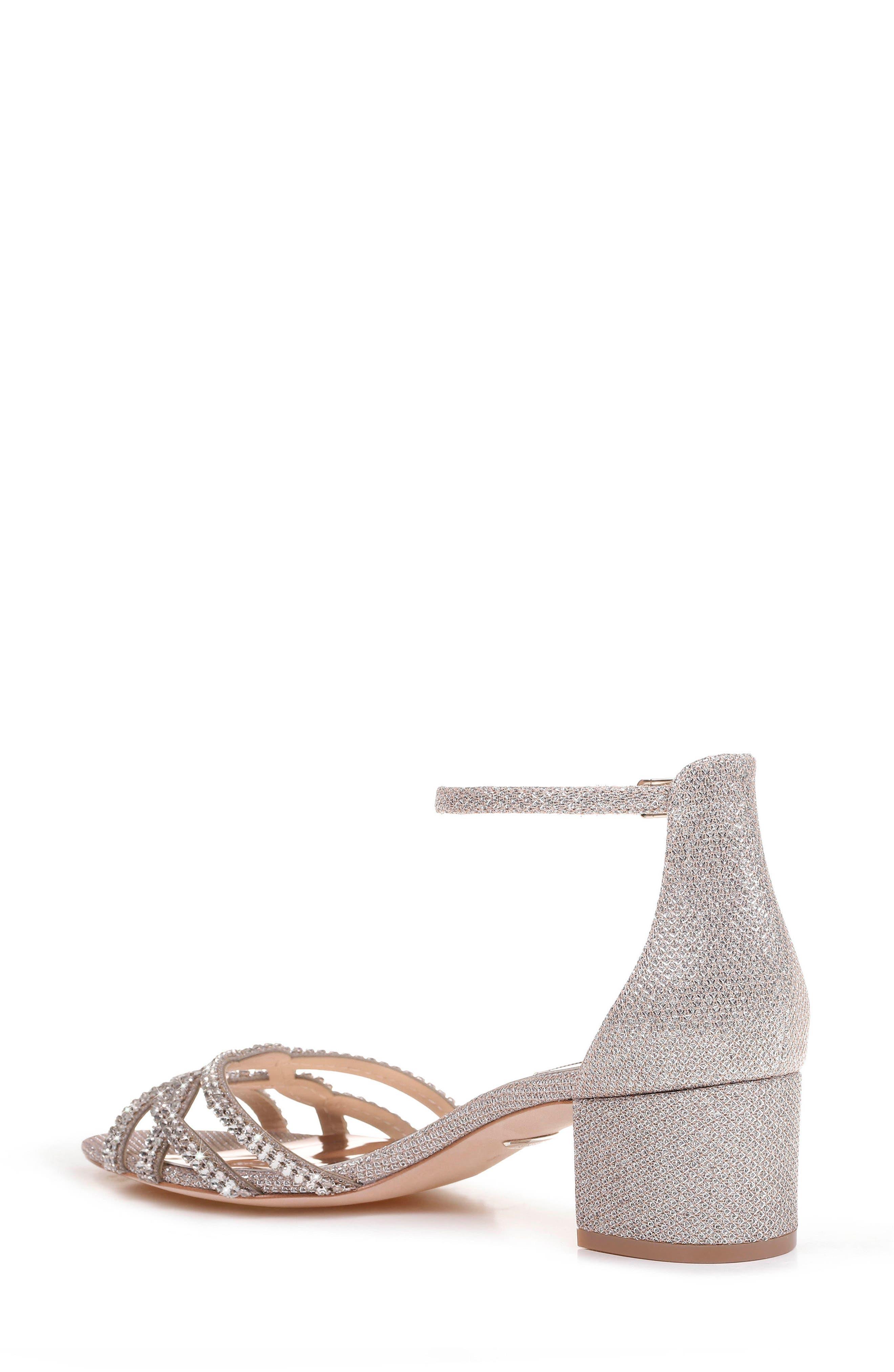 Alternate Image 2  - Badgley Mischka Sonya Block Heel Sandal (Women)
