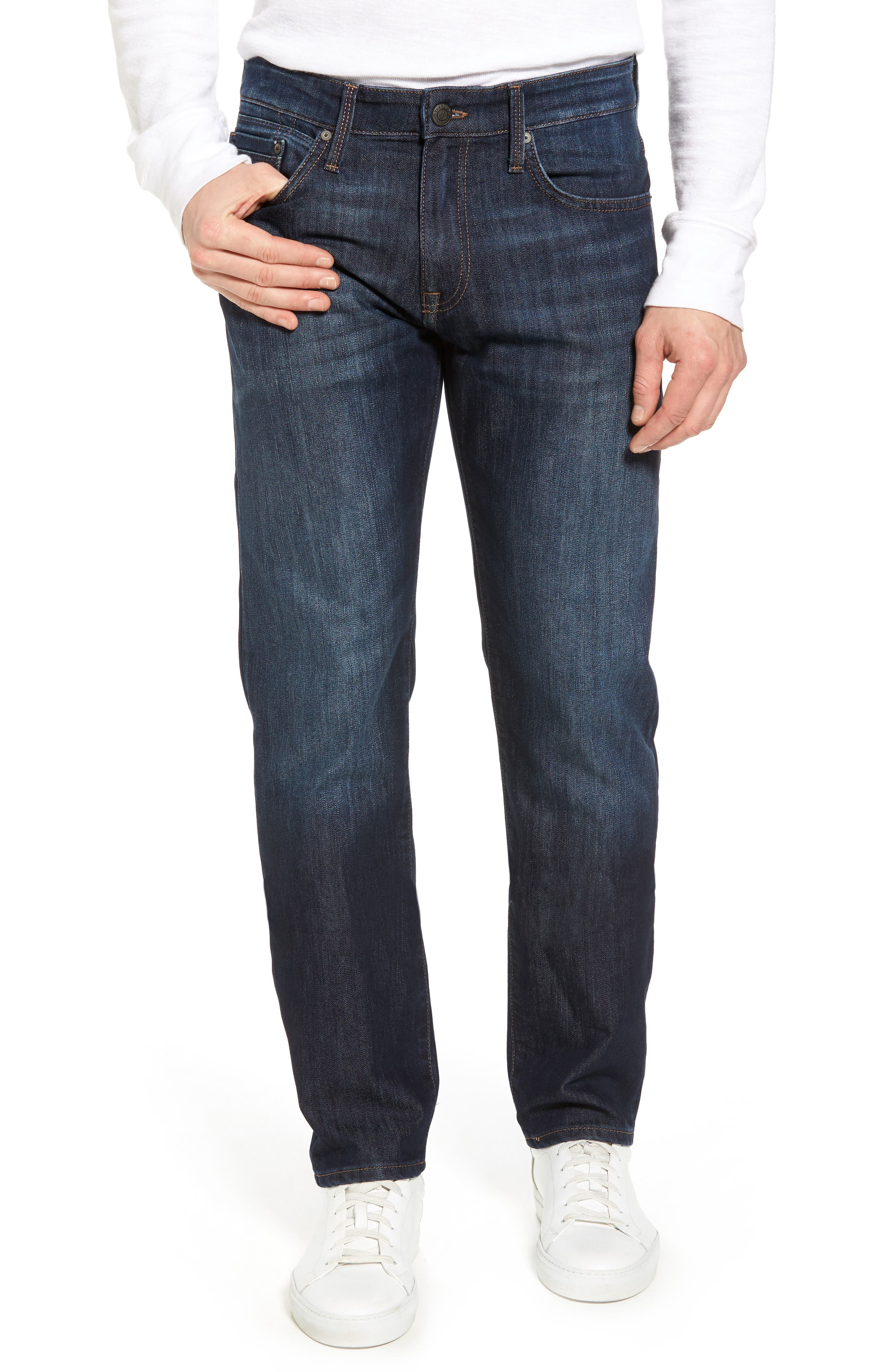 Zach Straight Leg Jeans,                         Main,                         color, Rinse Stanford
