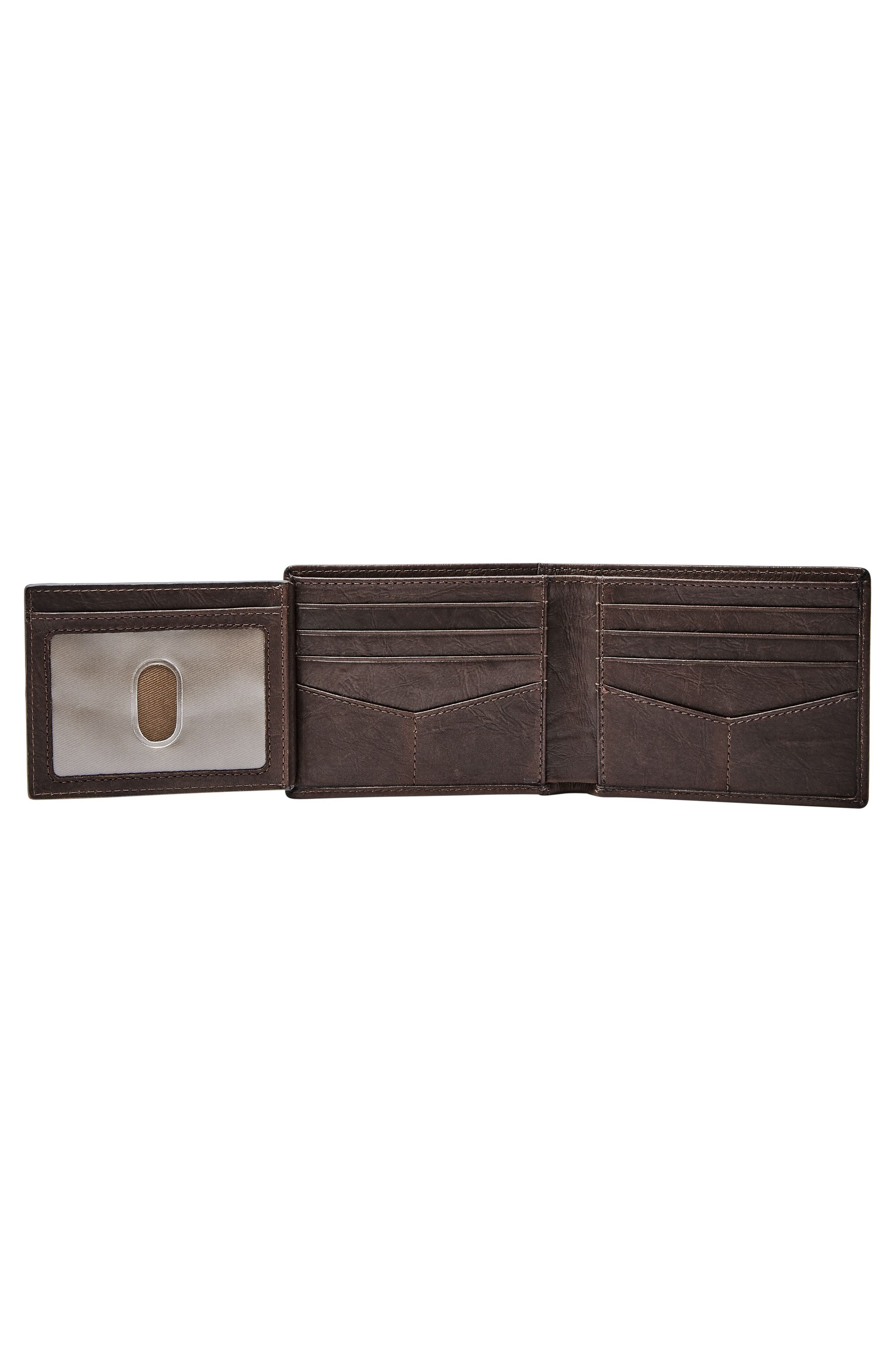 Alternate Image 4  - Fossil Leather Wallet