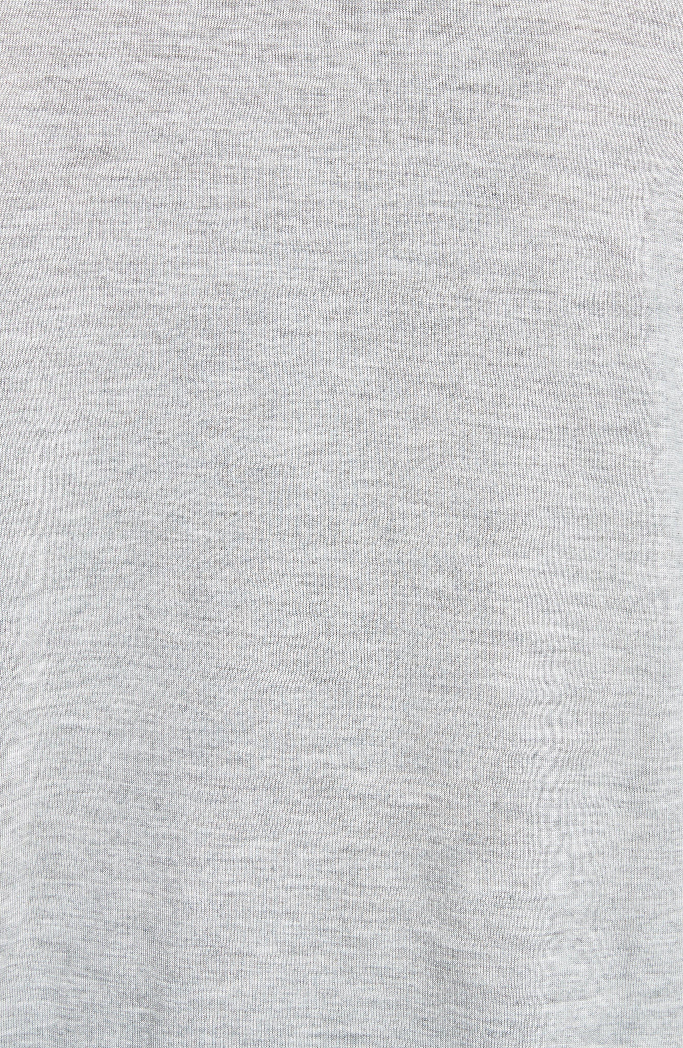 Drapey Tunic,                             Alternate thumbnail 5, color,                             H Grey