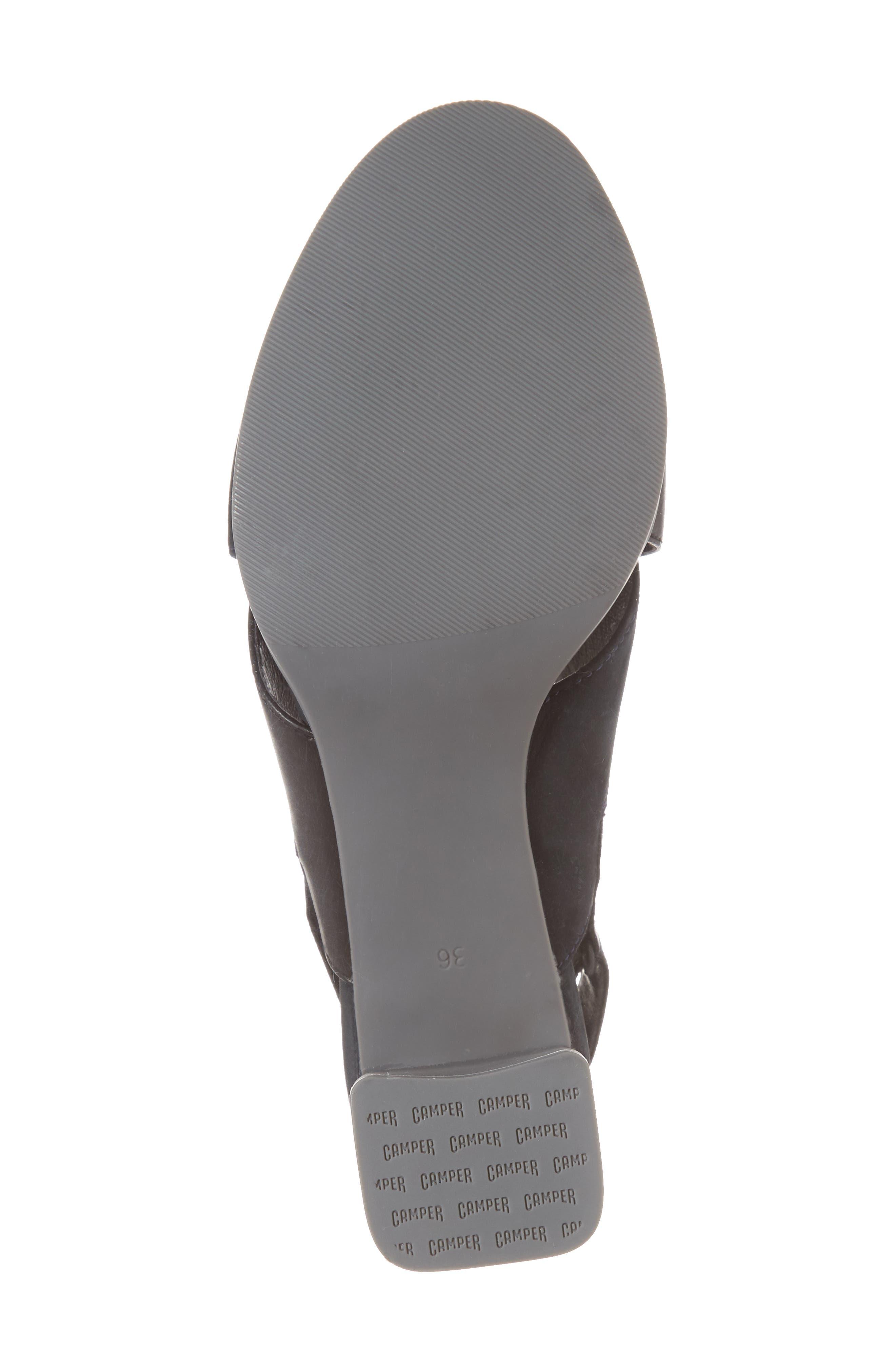 Alternate Image 6  - Camper Kara Cross Strap Sandal (Women)