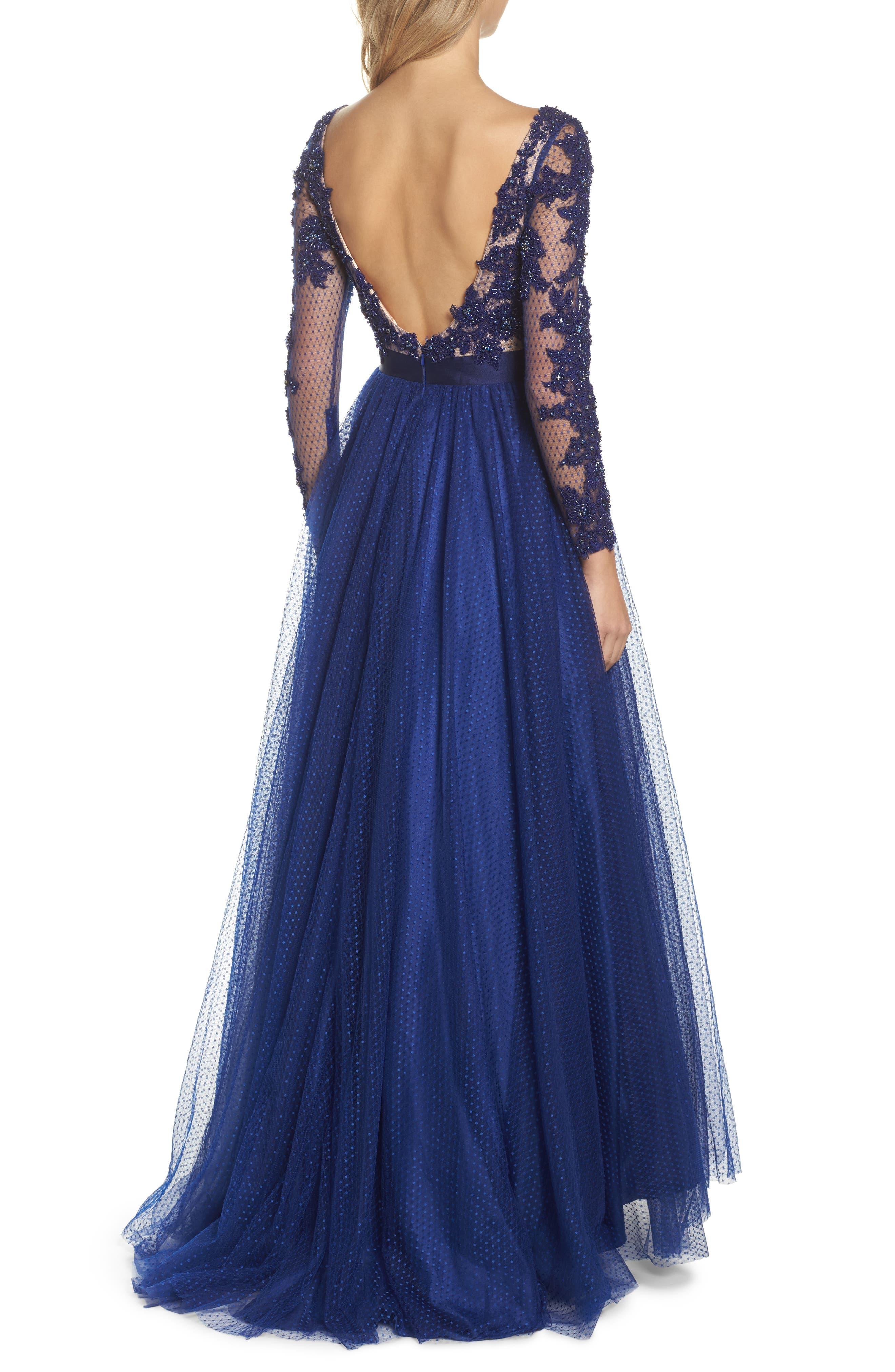 Alternate Image 2  - Mac Duggal Beaded Bodice Gown