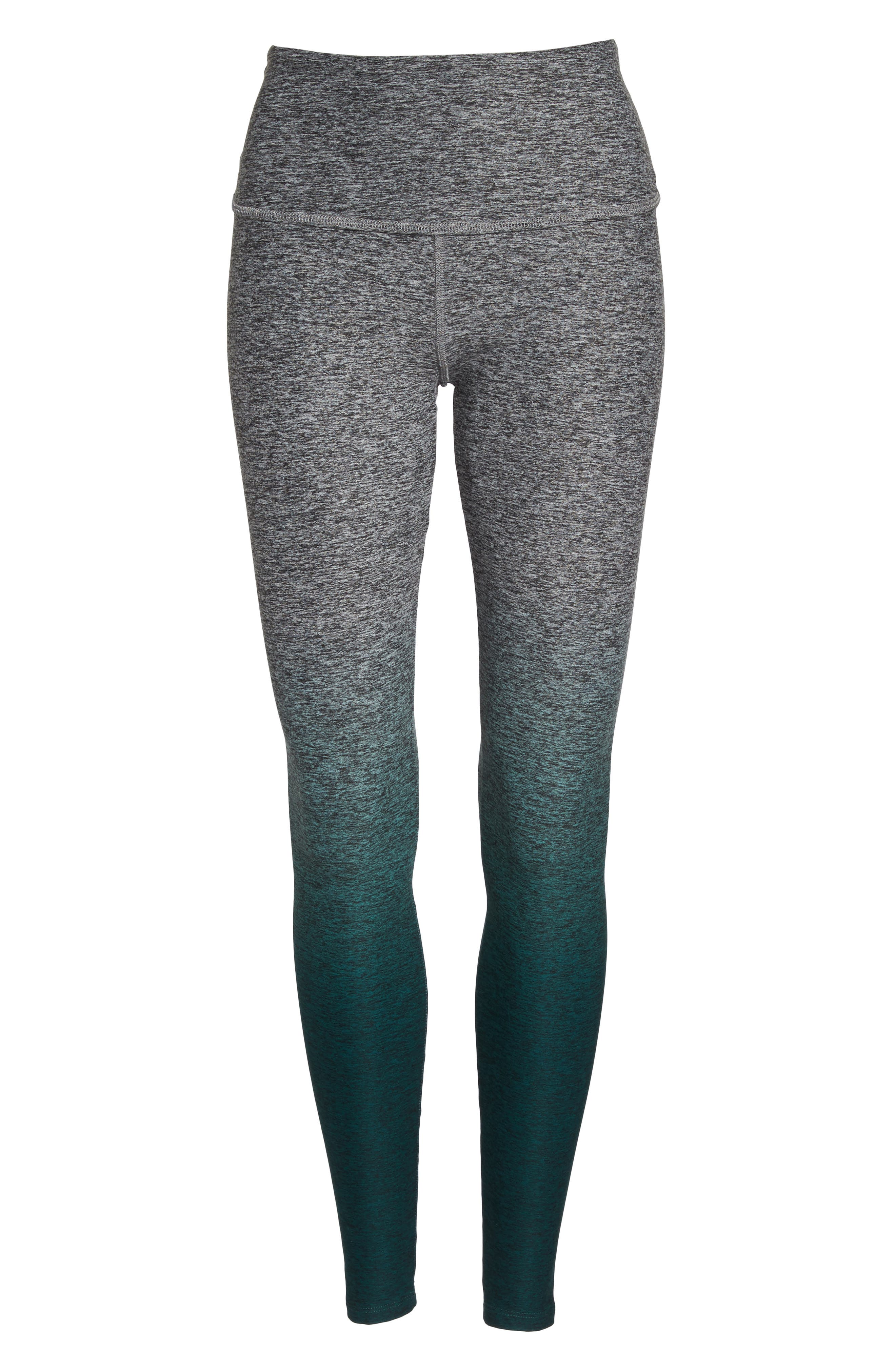 Alternate Image 7  - Beyond Yoga Space Dye High Waist Leggings