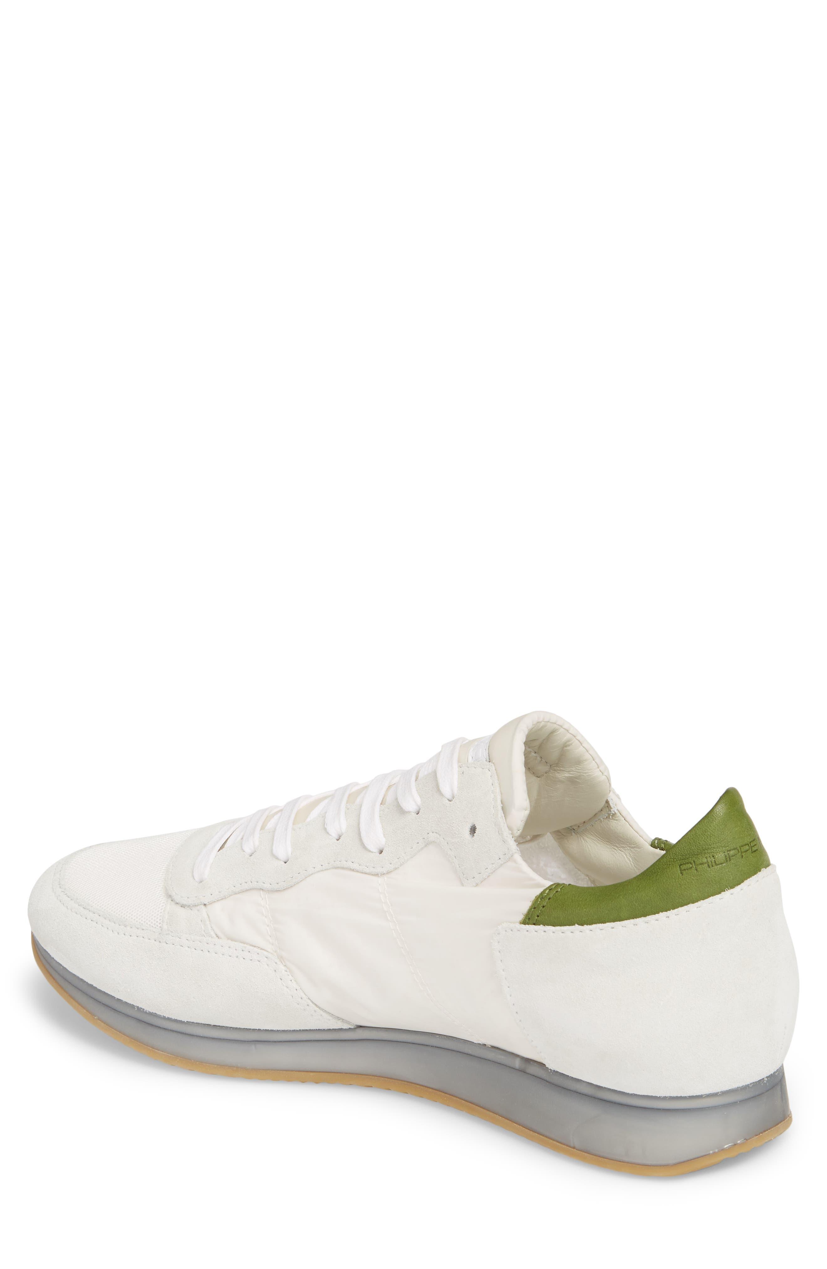 Tropez Sneaker,                             Alternate thumbnail 2, color,                             White/ Green