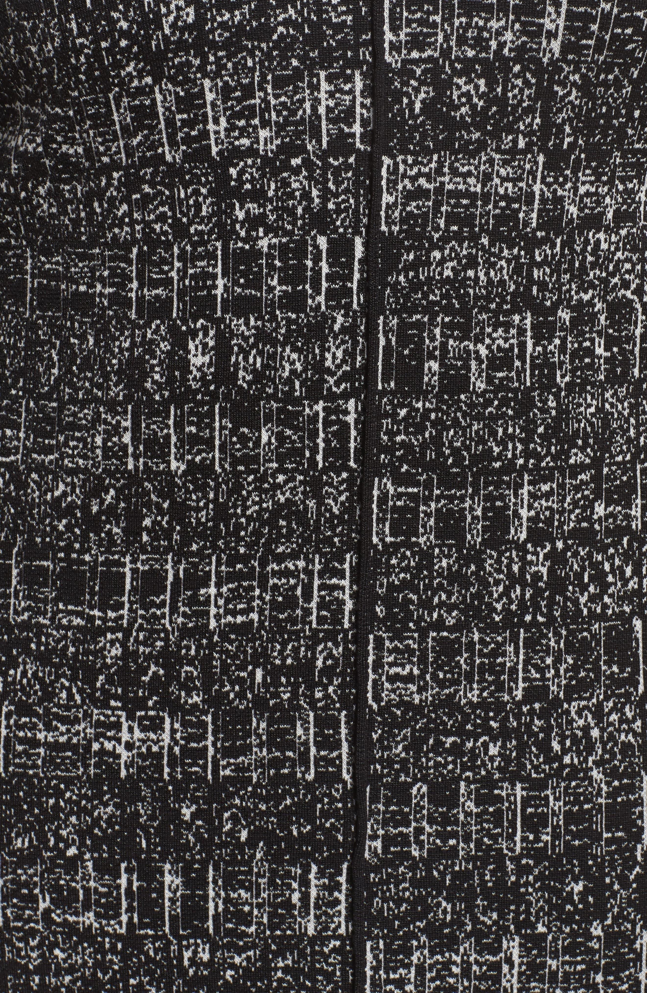 Alternate Image 5  - NIC+ZOE Ruffle Cuff Sweater Dress (Plus Size)