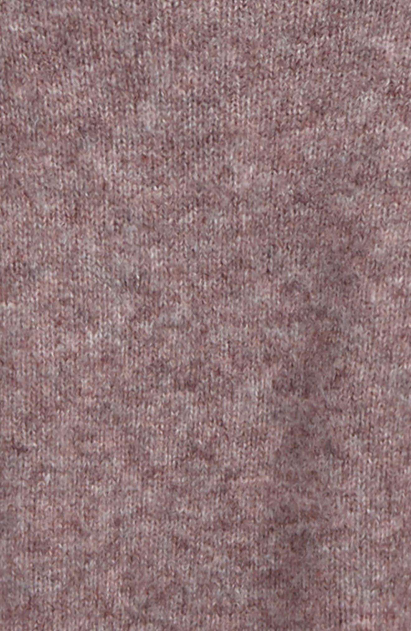 Alternate Image 2  - Treasure & Bond Crop Bubble Sleeve Sweater (Big Girls)