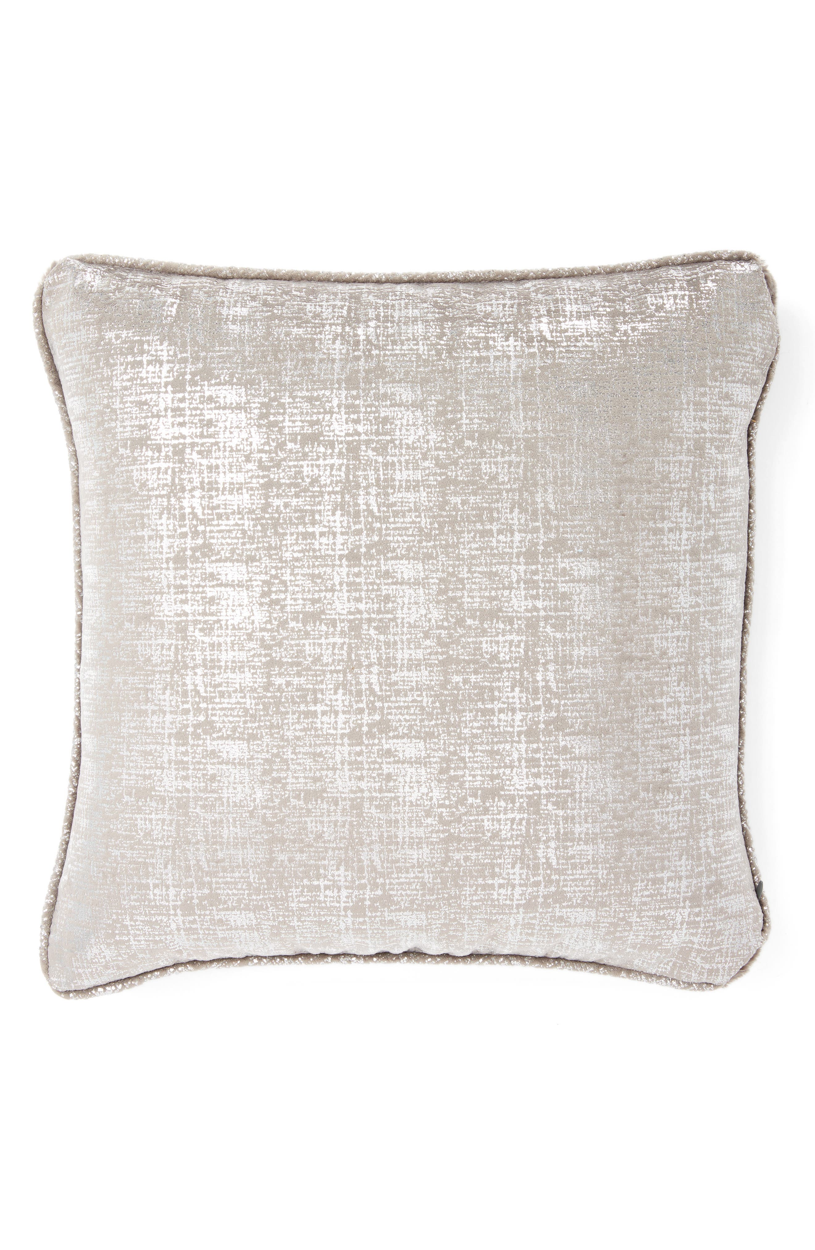 Luxe<sup>™</sup> Lustre Pillow,                             Alternate thumbnail 2, color,                             Charcoal