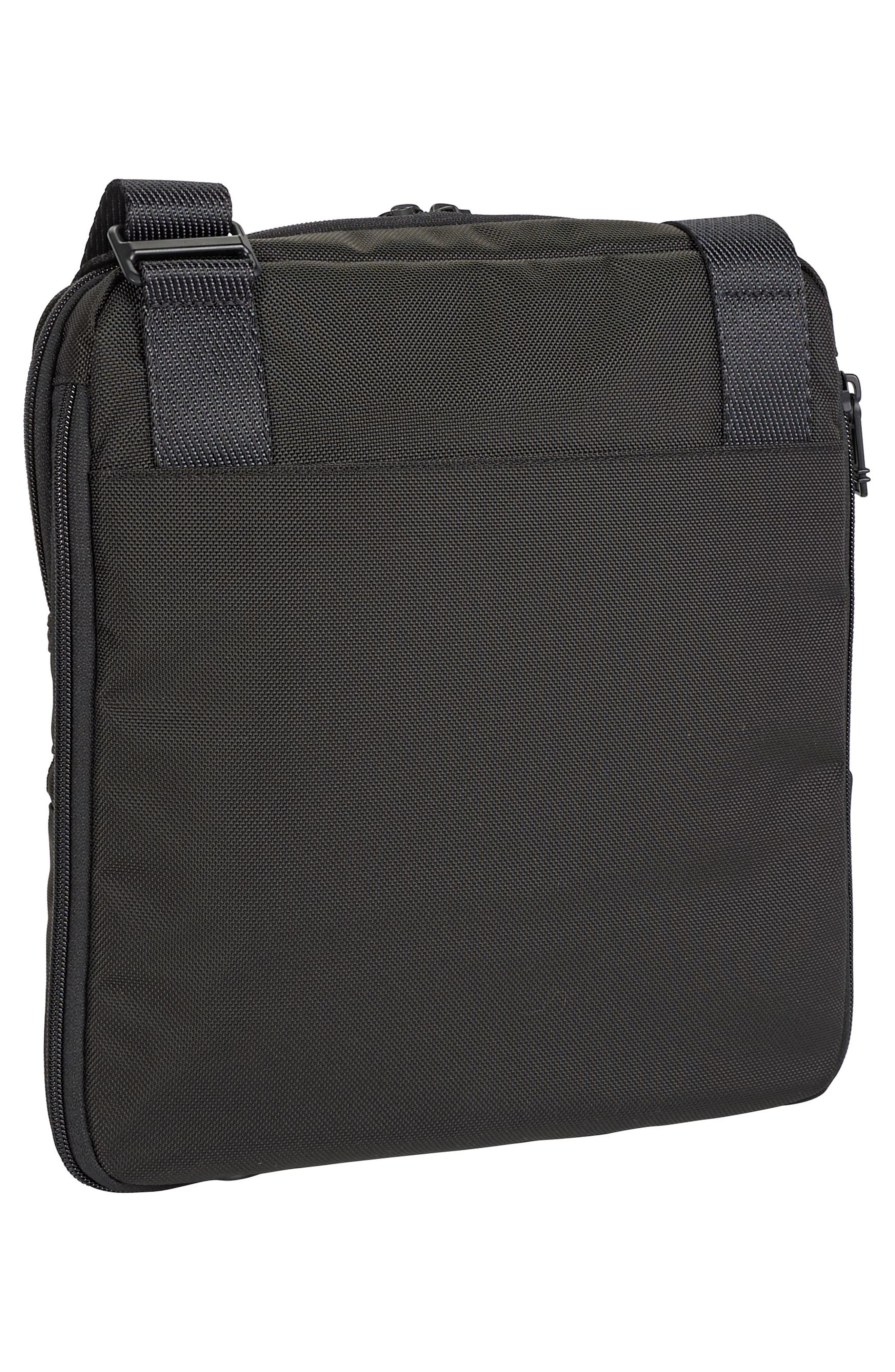 Alpha Bravo - Arnold Messenger Bag,                             Alternate thumbnail 3, color,                             Black