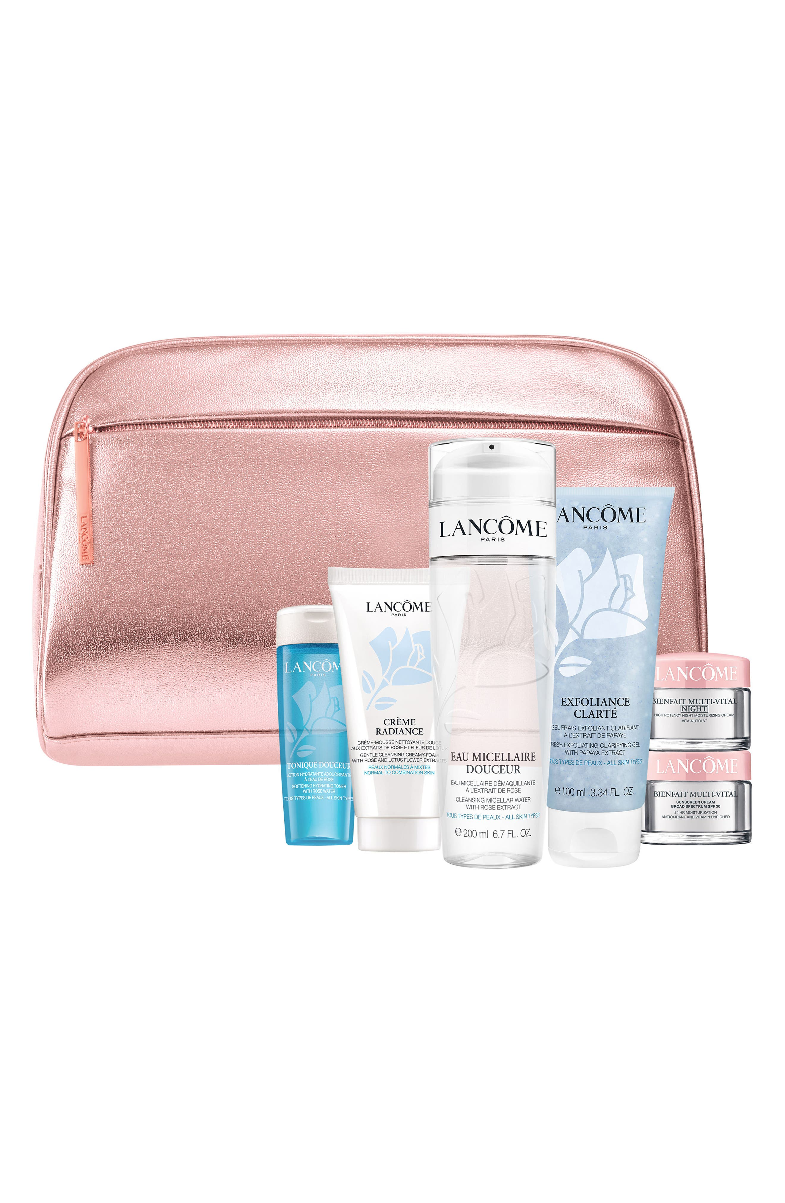 Main Image - Lancôme Skin Care Essentials Collection (Purchase with any Lancôme Purchase) ($112 Value)