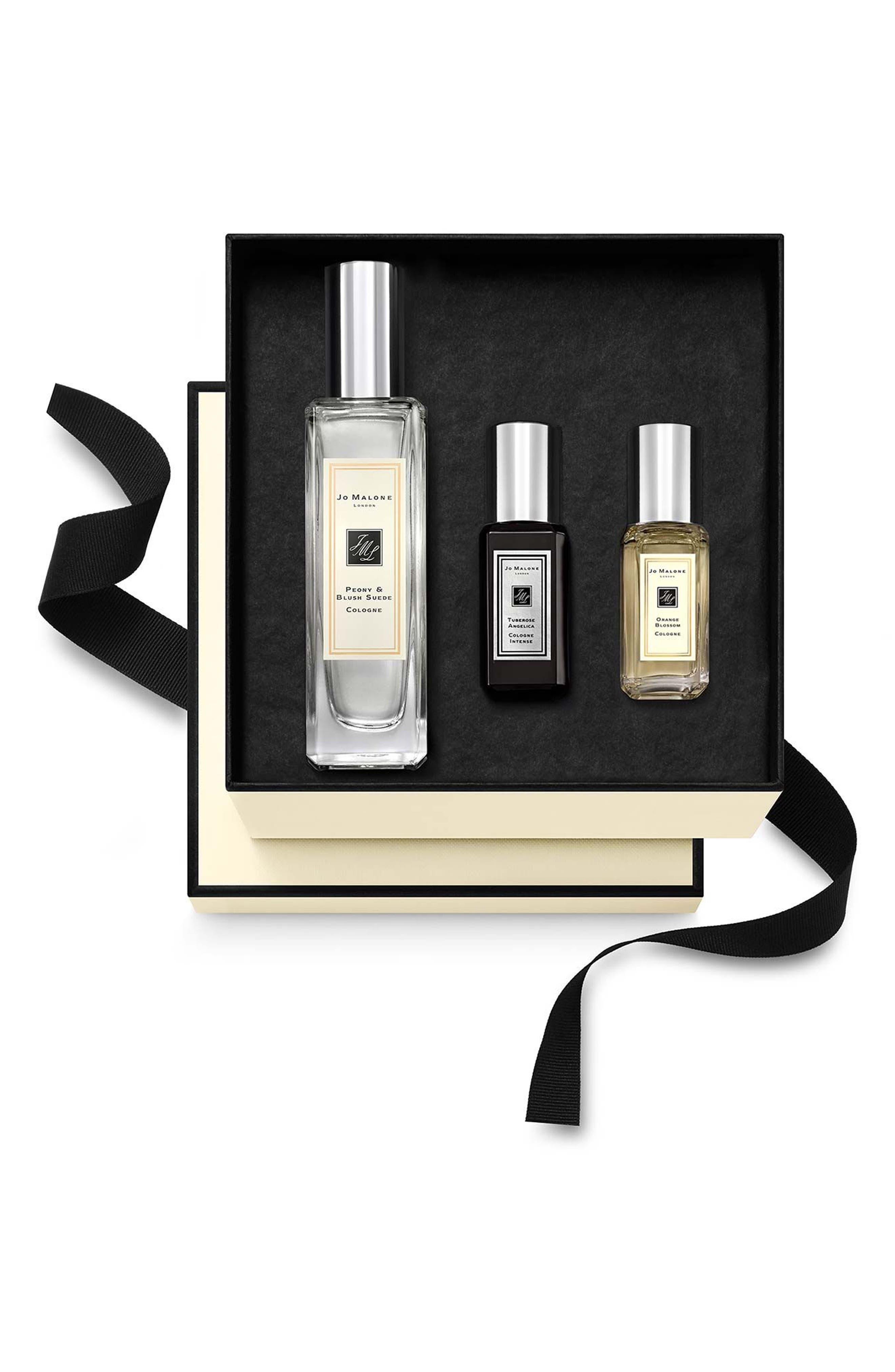 Peony & Blush Suede Fragrance Combining<sup>™</sup> Trio,                         Main,                         color, No Color